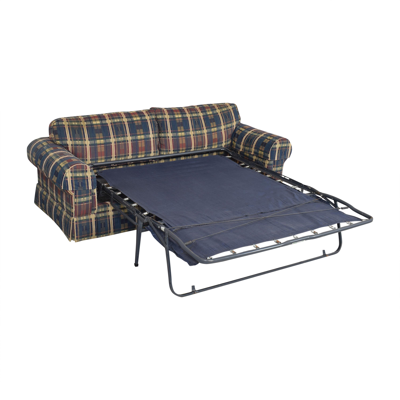 Norwalk Furniture Norwalk Plaid Sleeper Sofa for sale