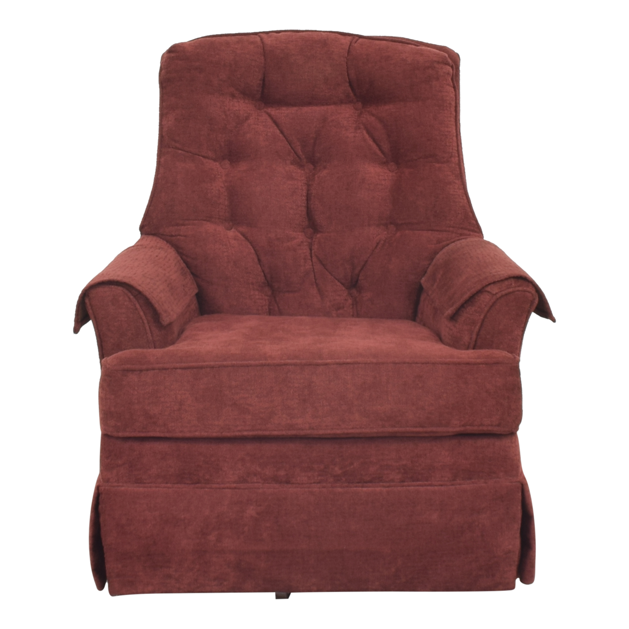 shop Rowe Furniture Tufted Swivel Chair Rowe Furniture Chairs