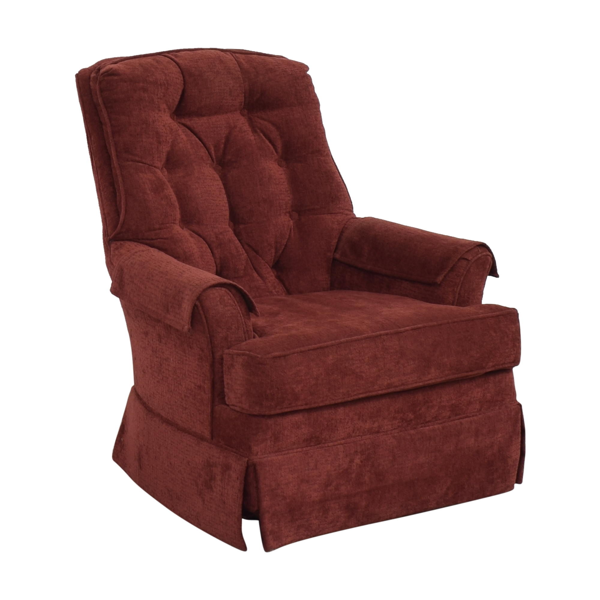 Rowe Furniture Rowe Furniture Tufted Swivel Chair dimensions