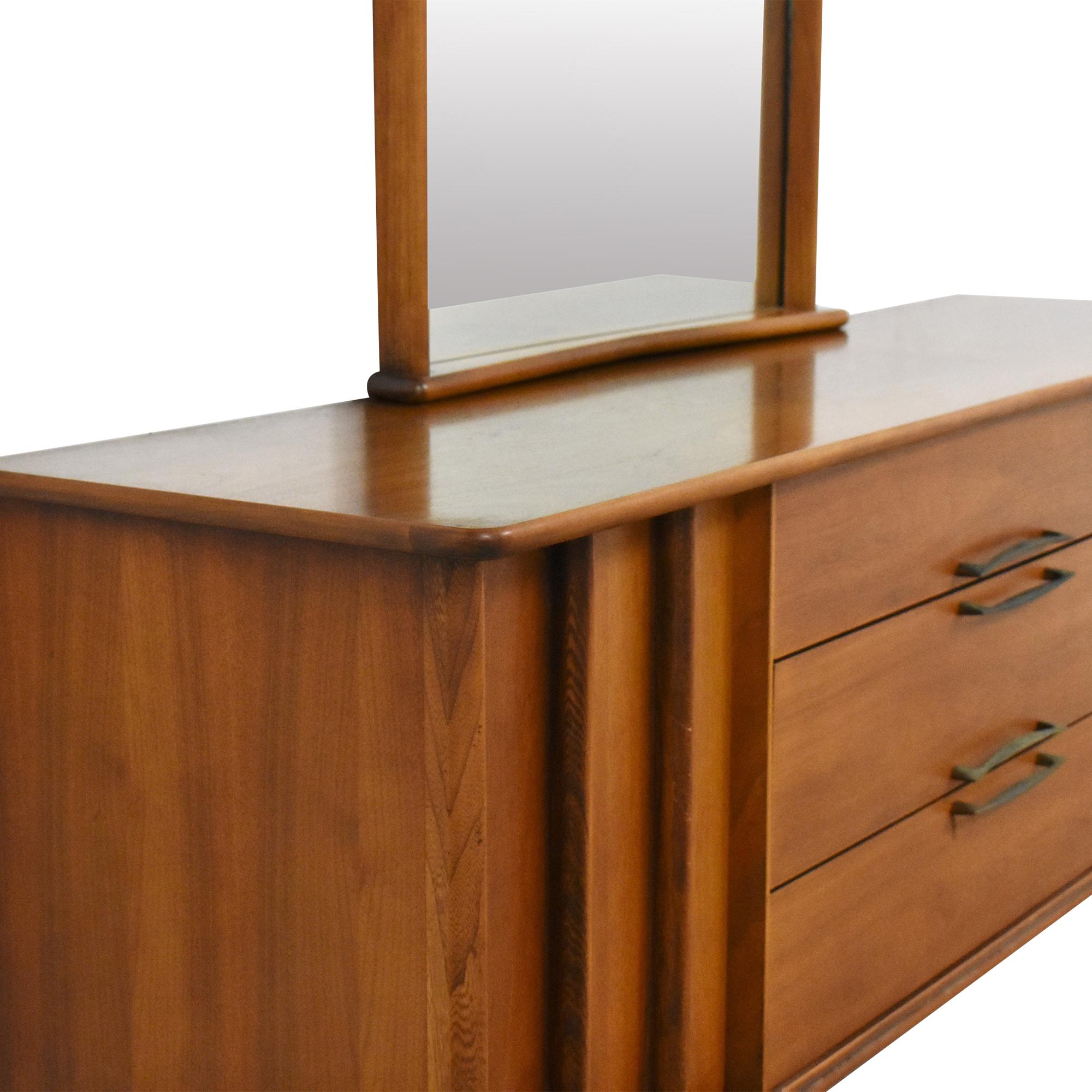 shop Kent Coffey The Eloquence Dresser with Mirror Kent Coffey Storage