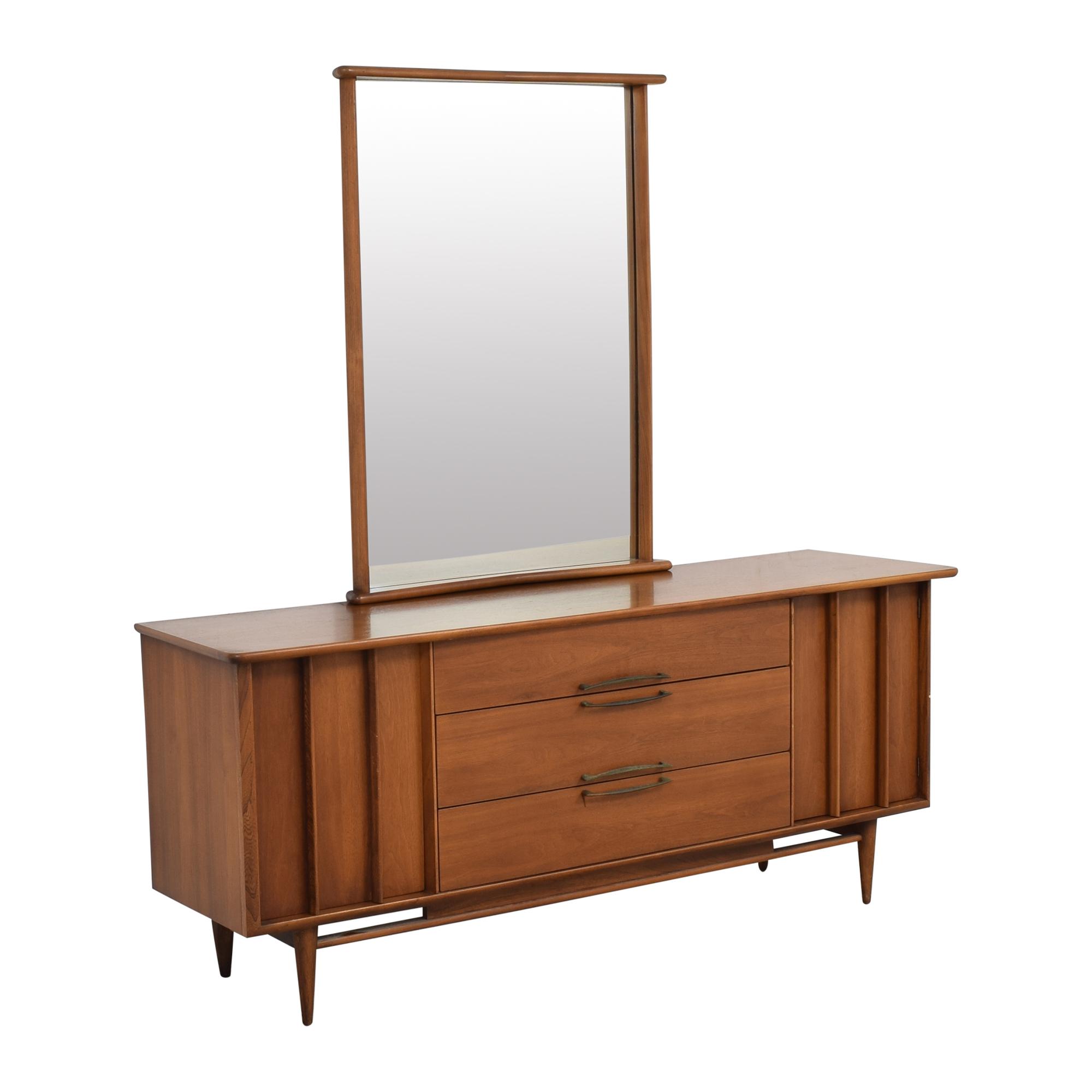 Kent Coffey Kent Coffey The Eloquence Dresser with Mirror second hand