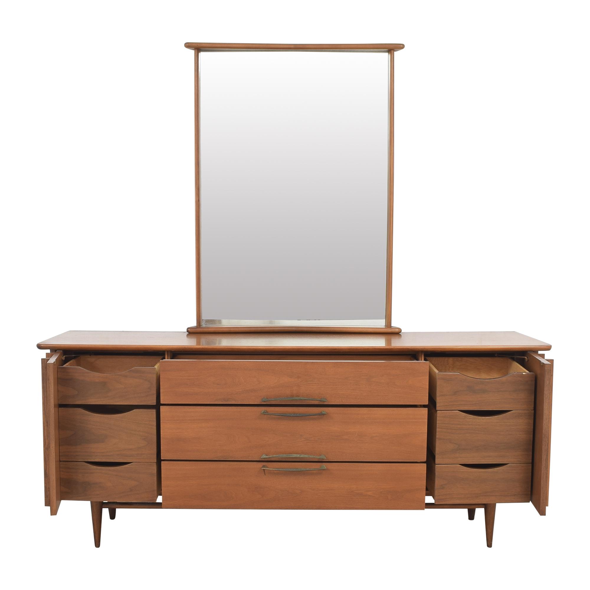 Kent Coffey The Eloquence Dresser with Mirror / Storage