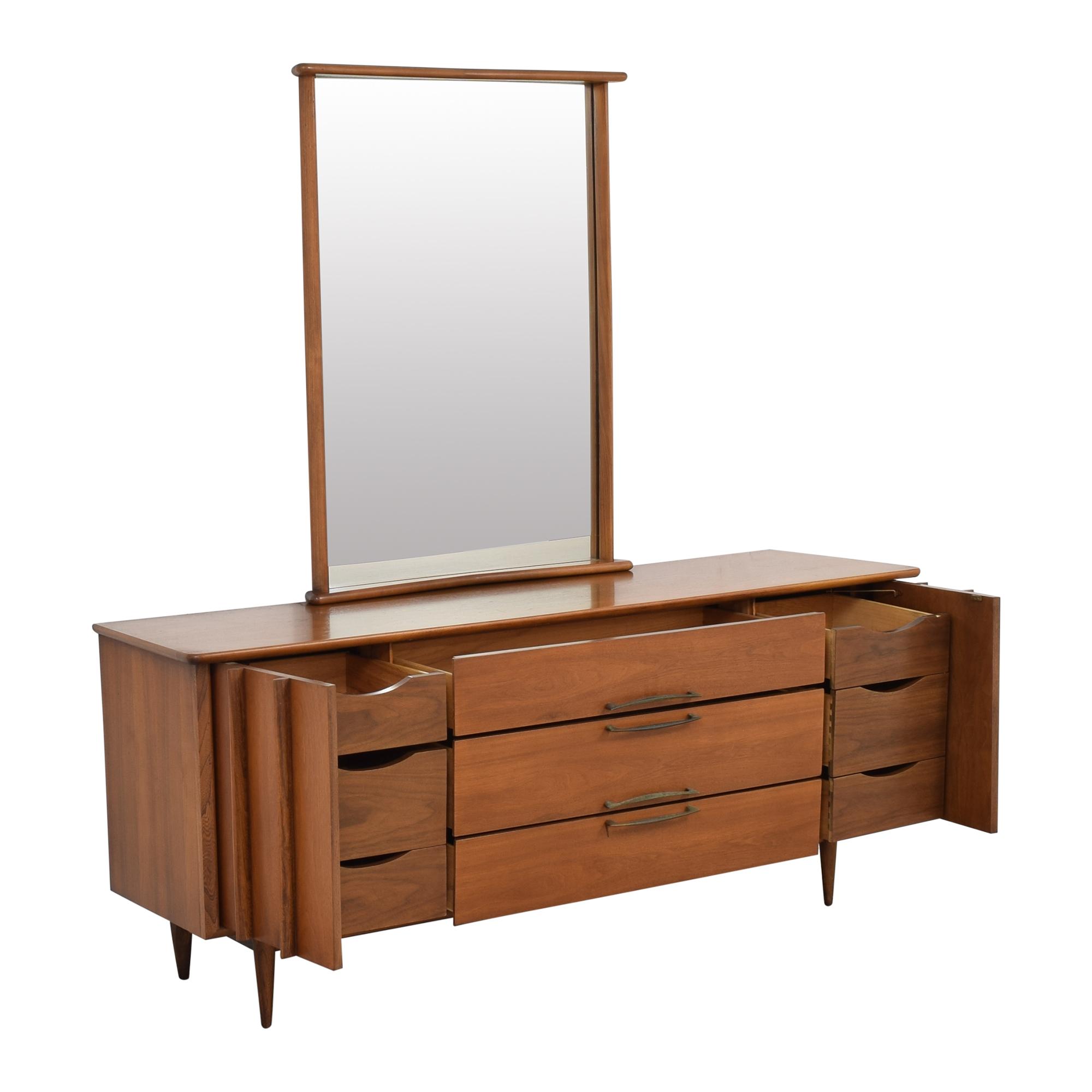 Kent Coffey Kent Coffey The Eloquence Dresser with Mirror discount