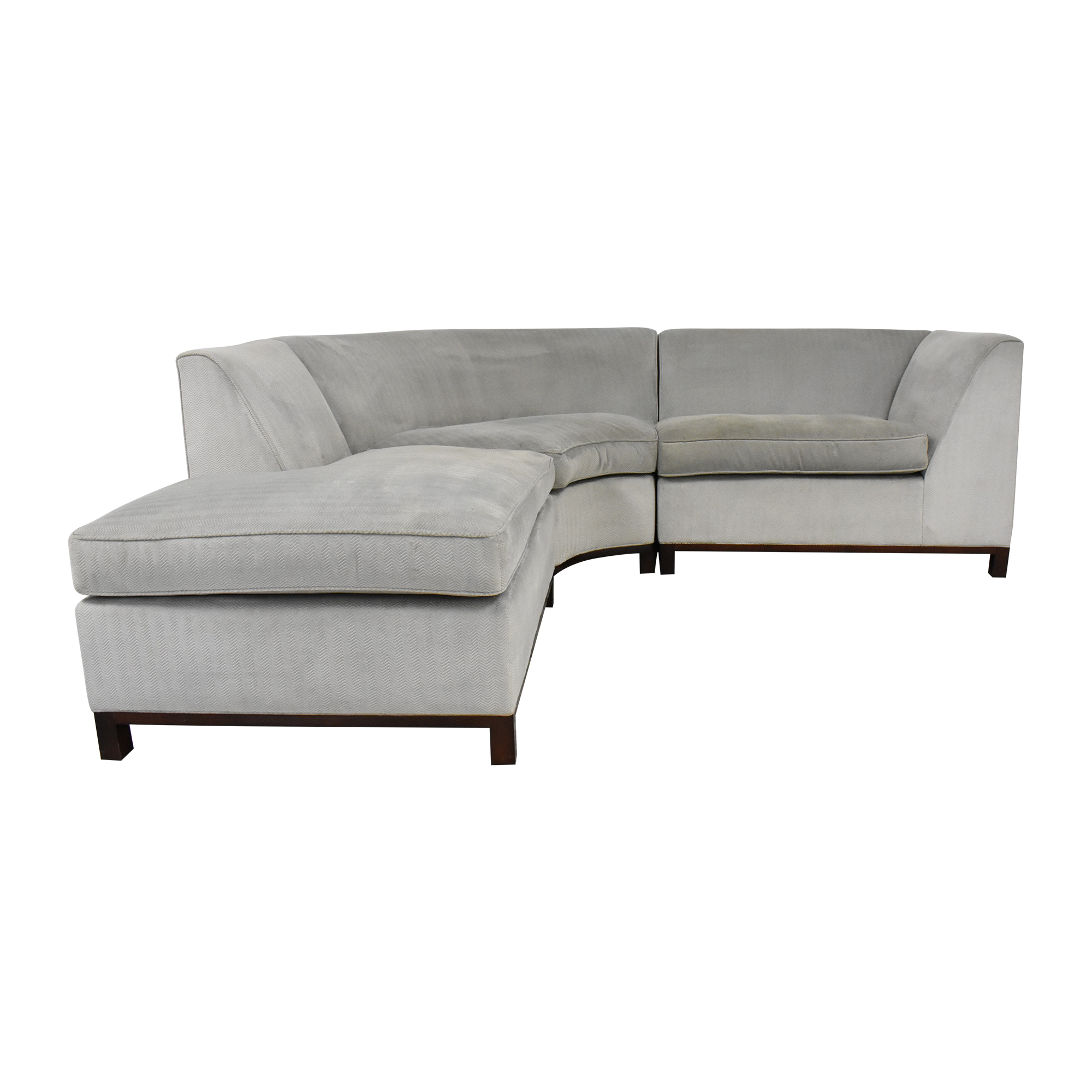 buy Custom Curved Sectional Sofa  Sofas
