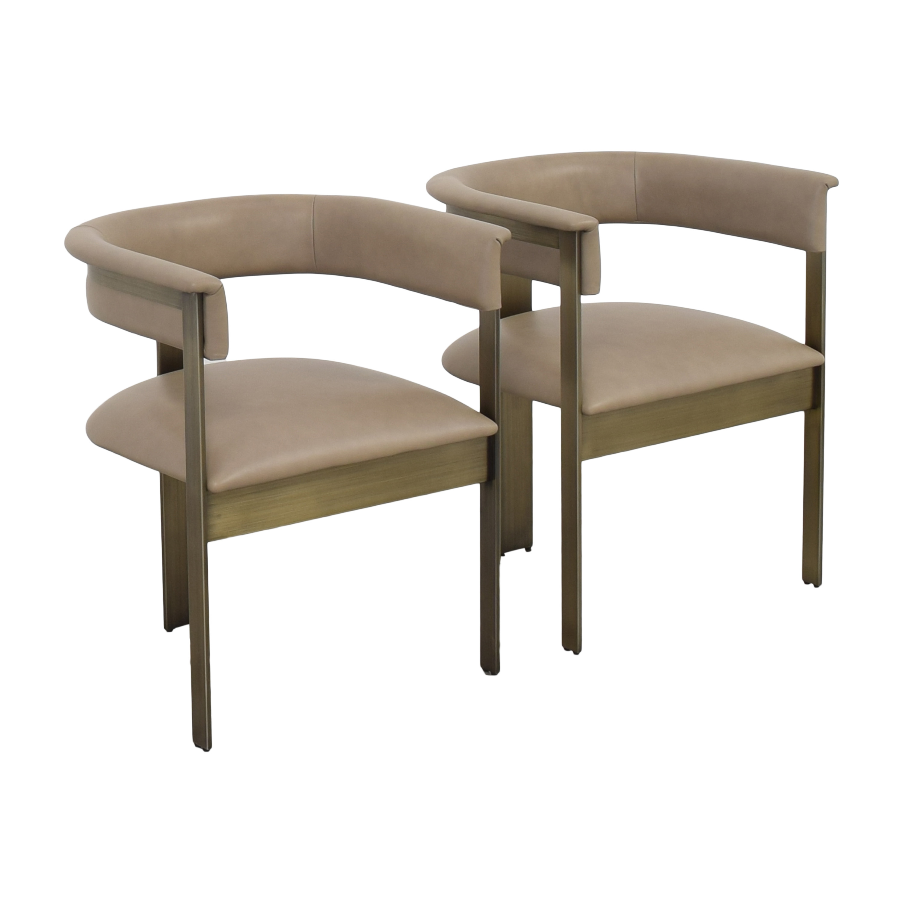 Interlude Home Darcy Dining Arm Chairs Interlude Home