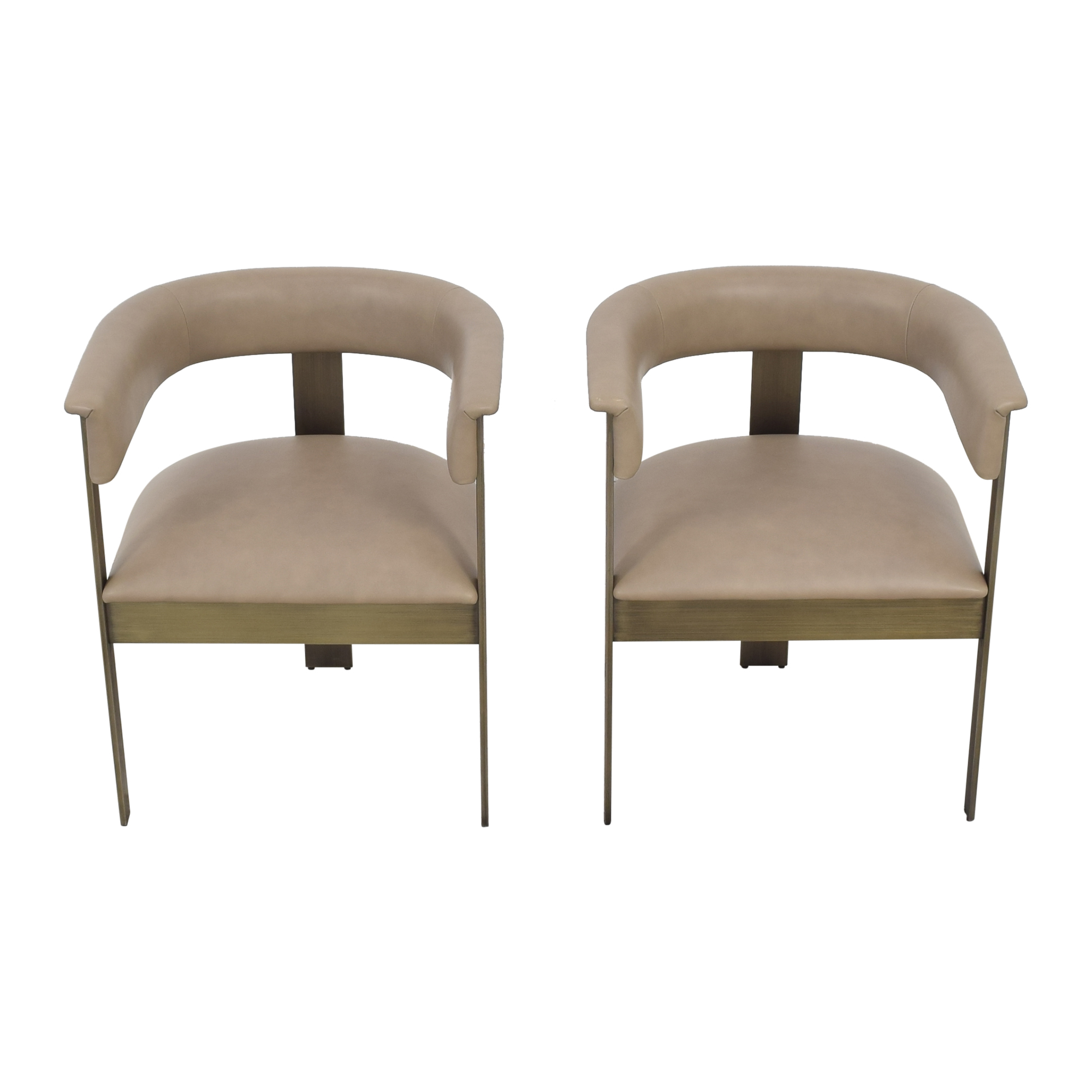 Interlude Home Interlude Home Darcy Dining Arm Chairs nj
