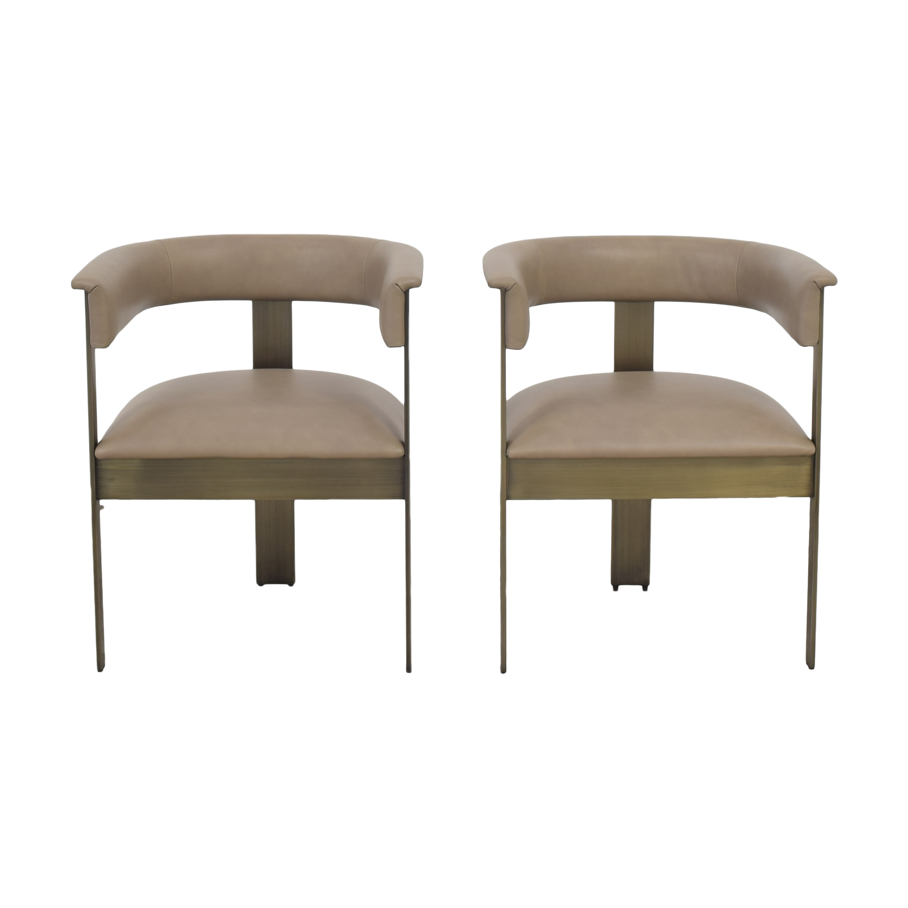 Interlude Home Interlude Home Darcy Dining Arm Chairs pa