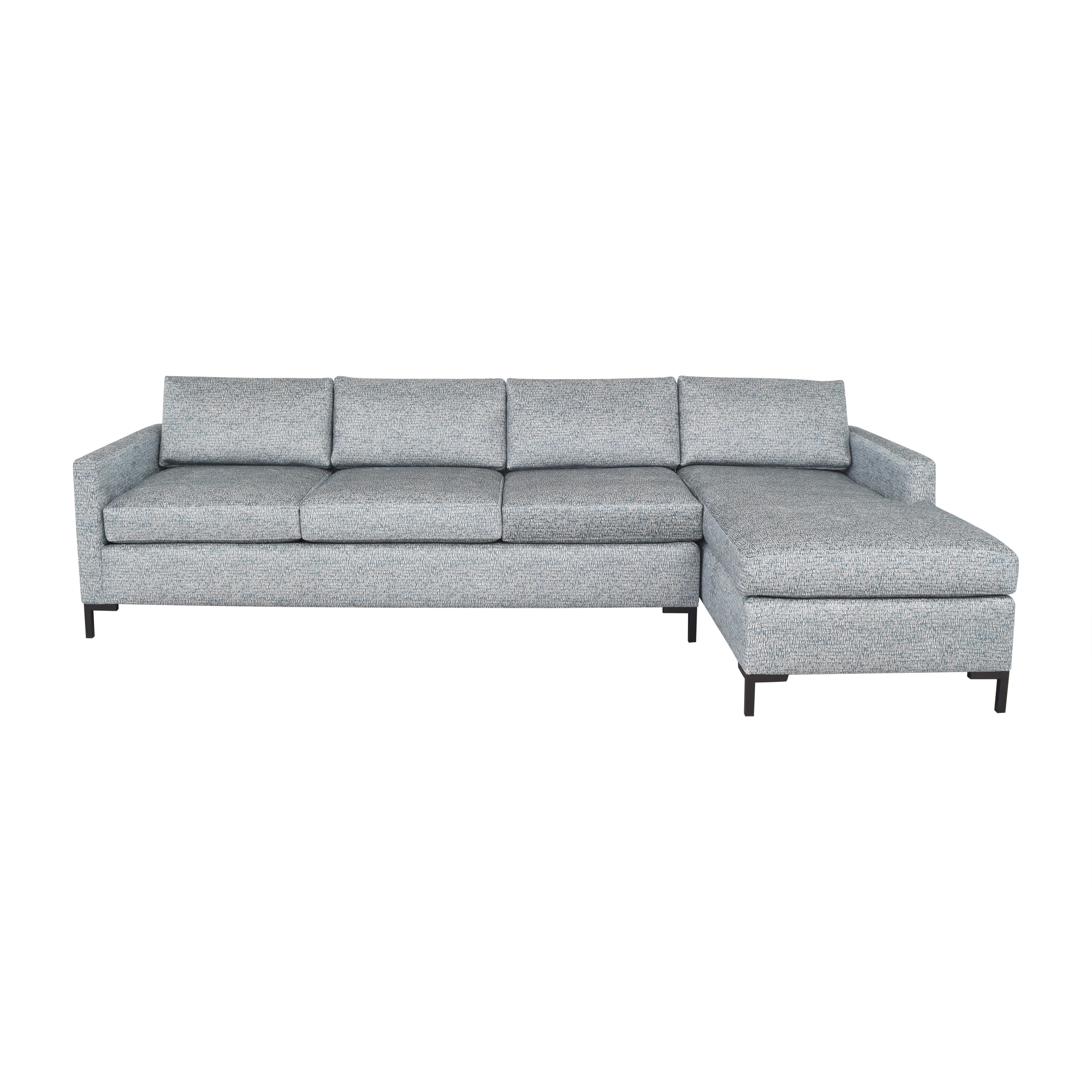 Brookline Furniture Brookline Chaise Sectional Sofa Sofas