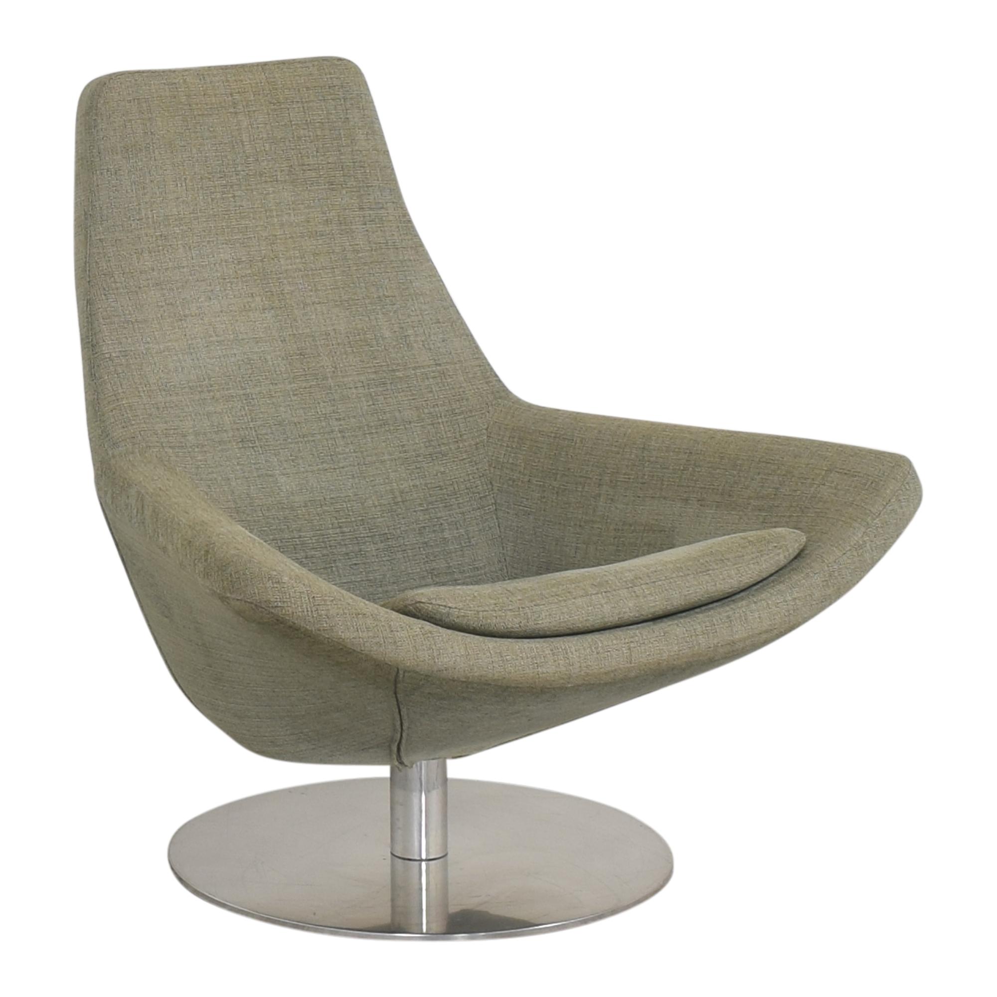 shop B&B Italia Metropolitan Swivel Chair B&B Italia Accent Chairs