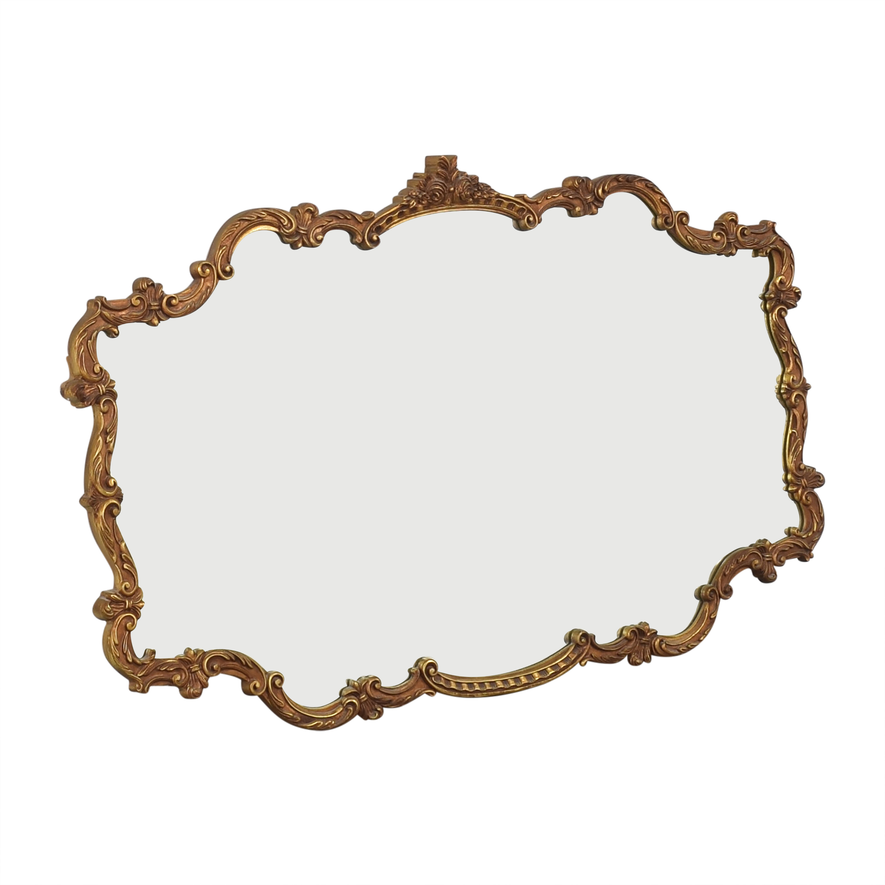 Ornate Framed Wall Mirror for sale