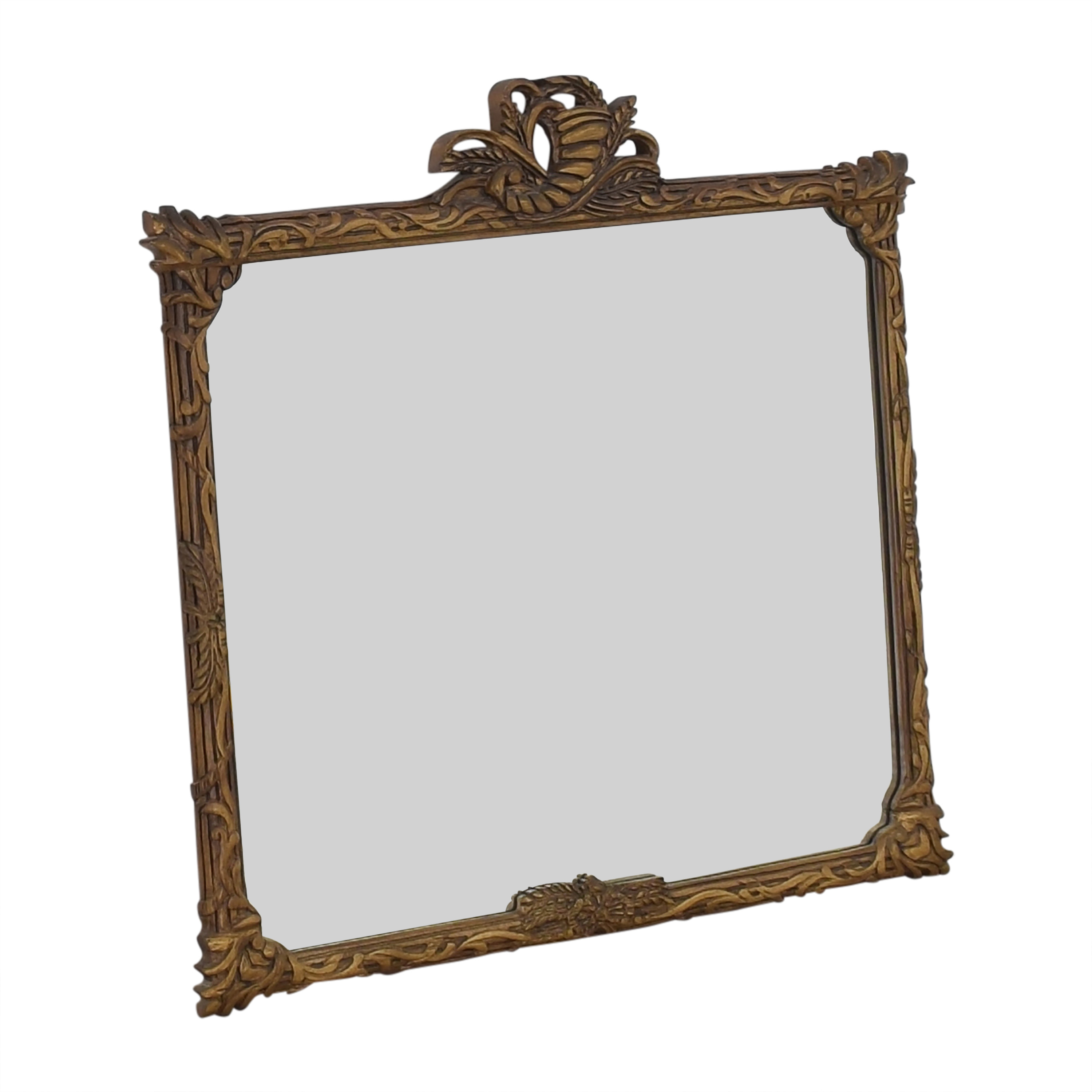 Wall Mirror with Carved Frame used