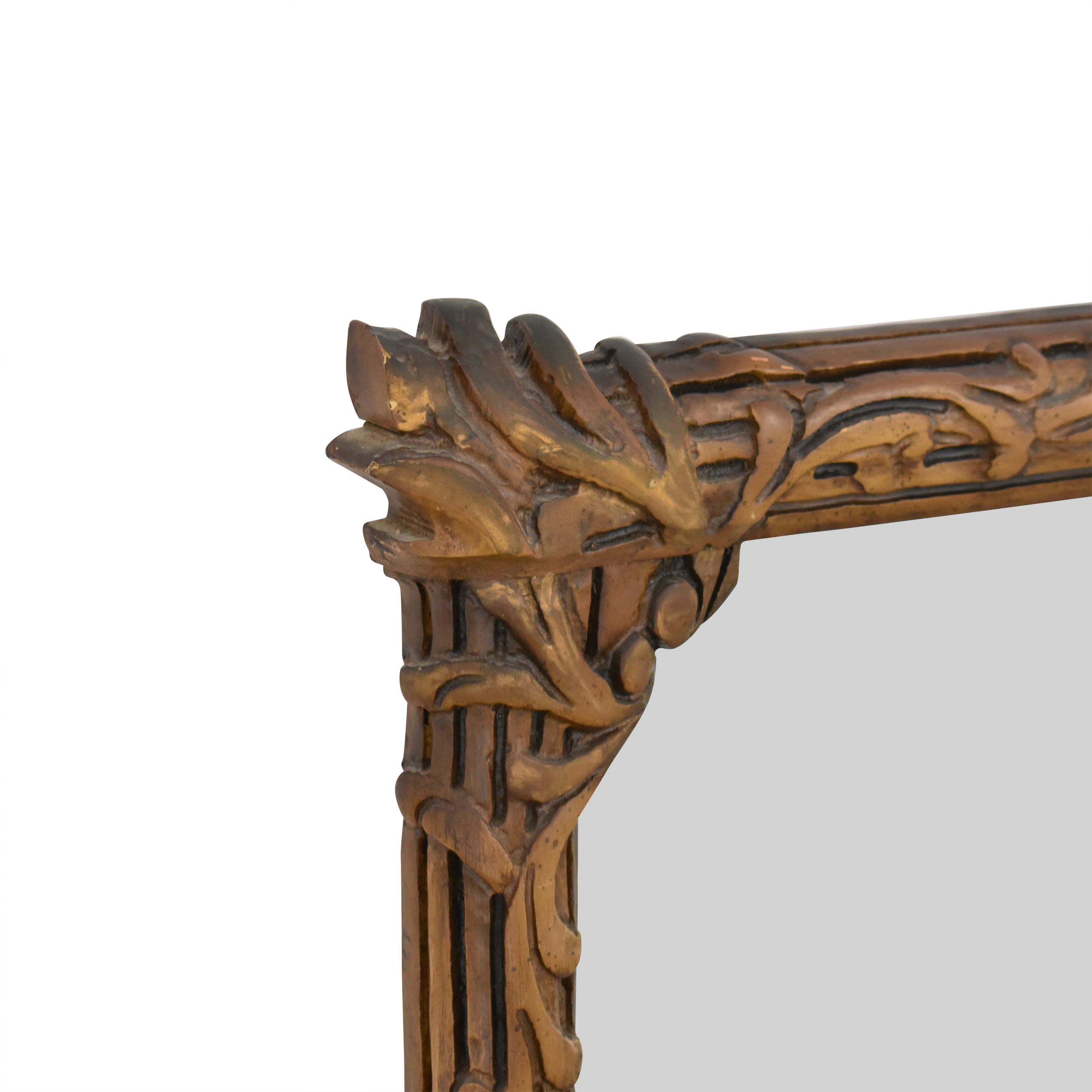 Wall Mirror with Carved Frame for sale