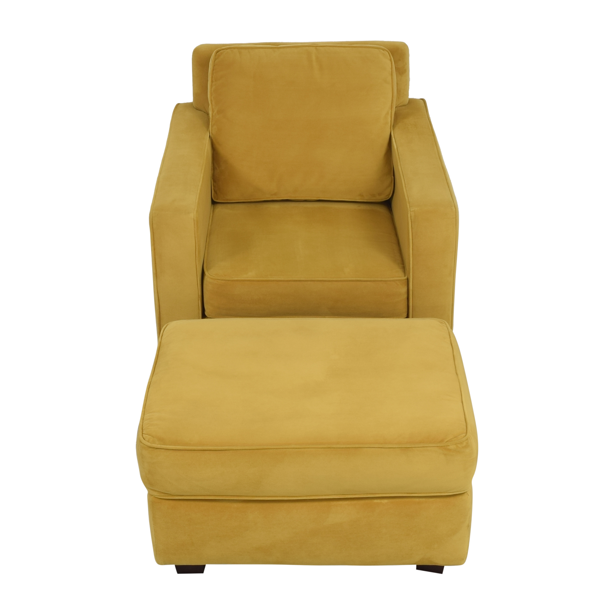 West Elm West Elm Henry Armchair with Ottoman price