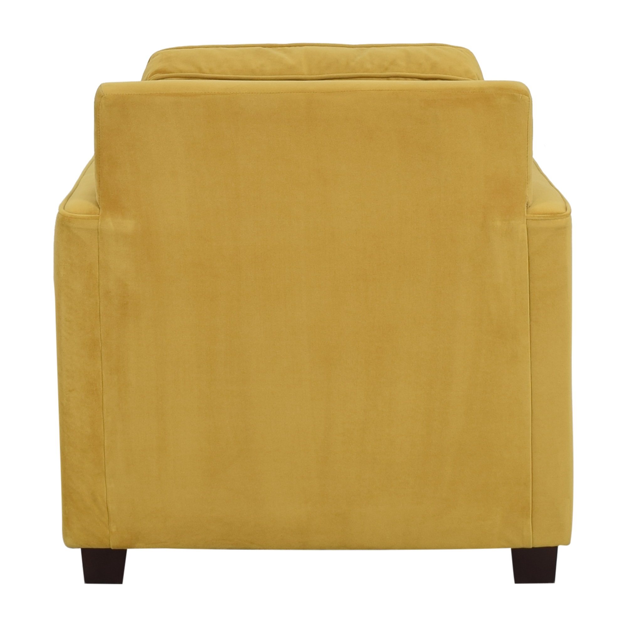 West Elm West Elm Henry Armchair with Ottoman second hand