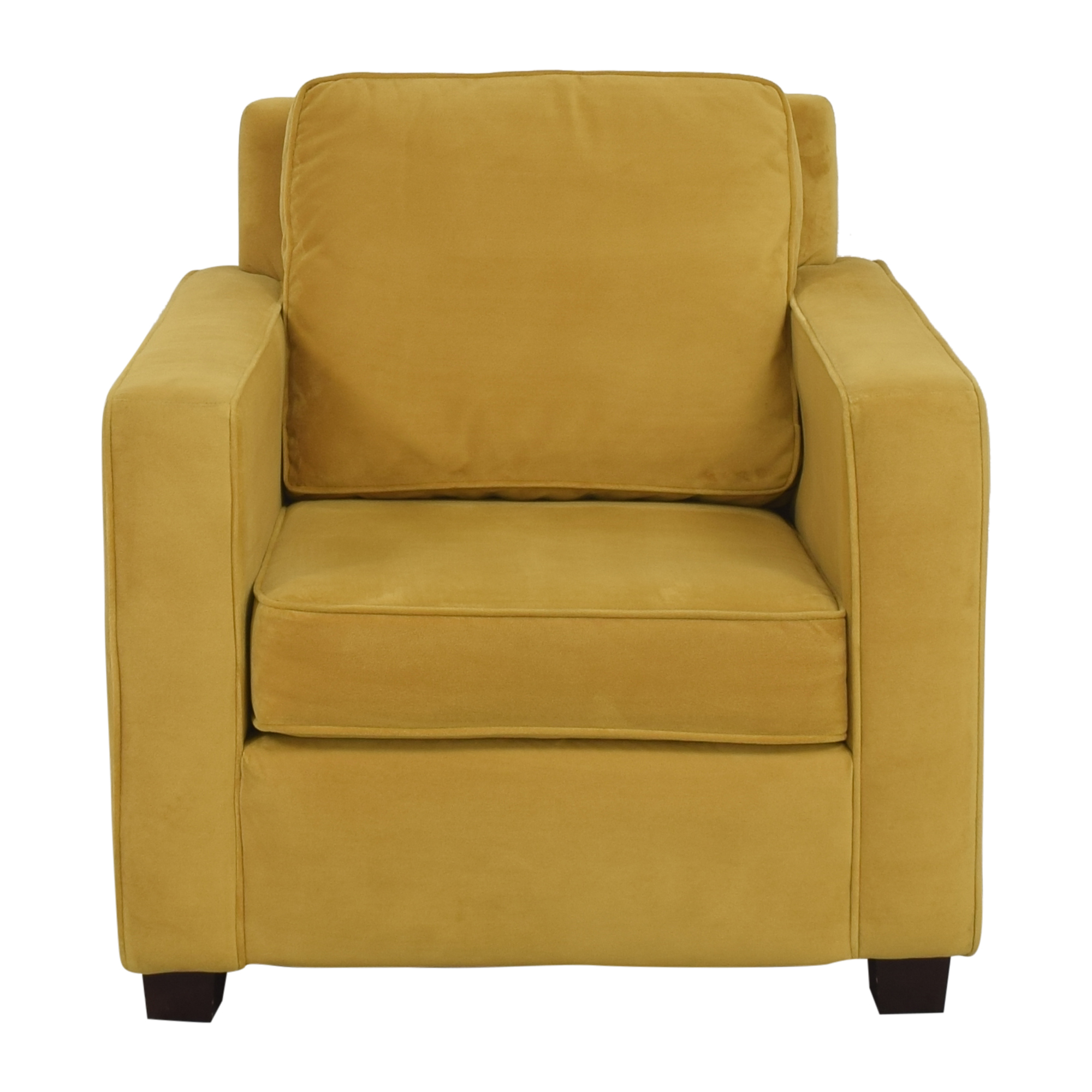 West Elm West Elm Henry Armchair with Ottoman coupon
