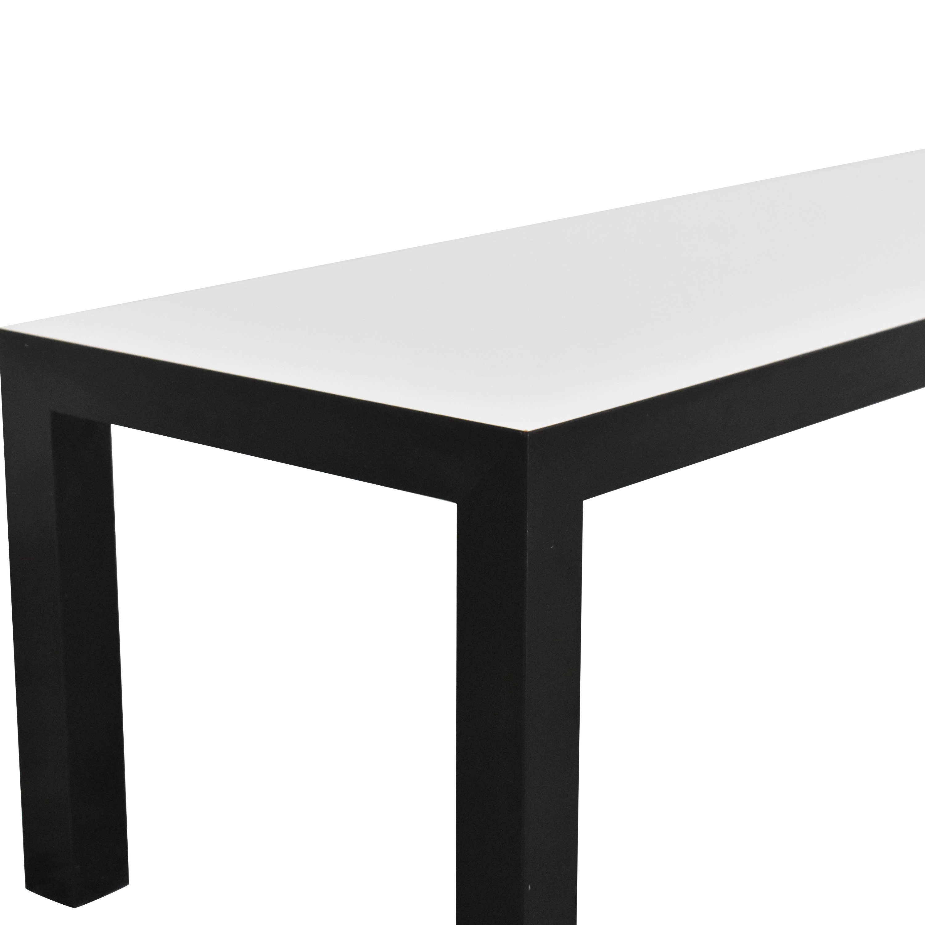 Parsons Style Bench