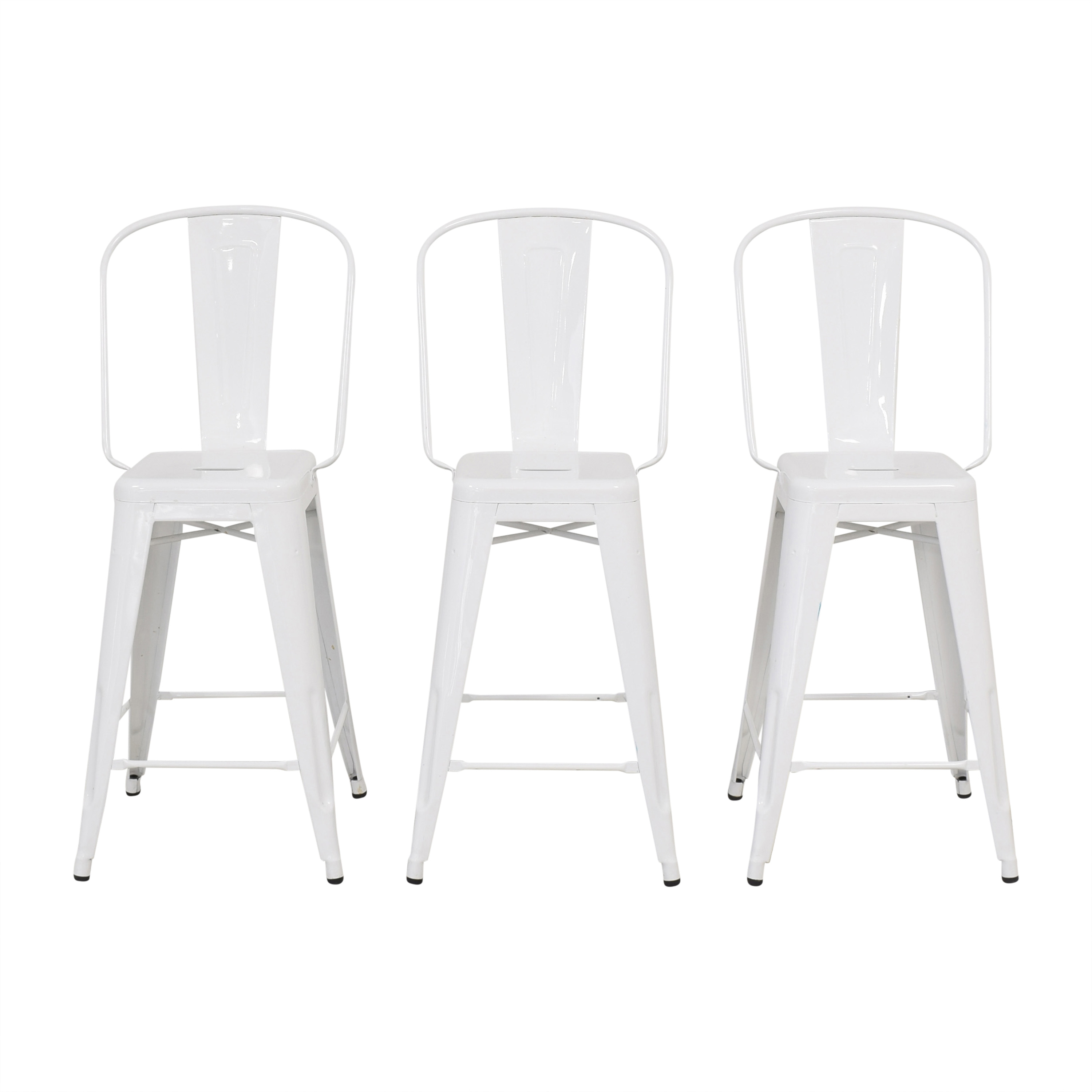 buy Tolix Marais High Back Counter Stools Tolix