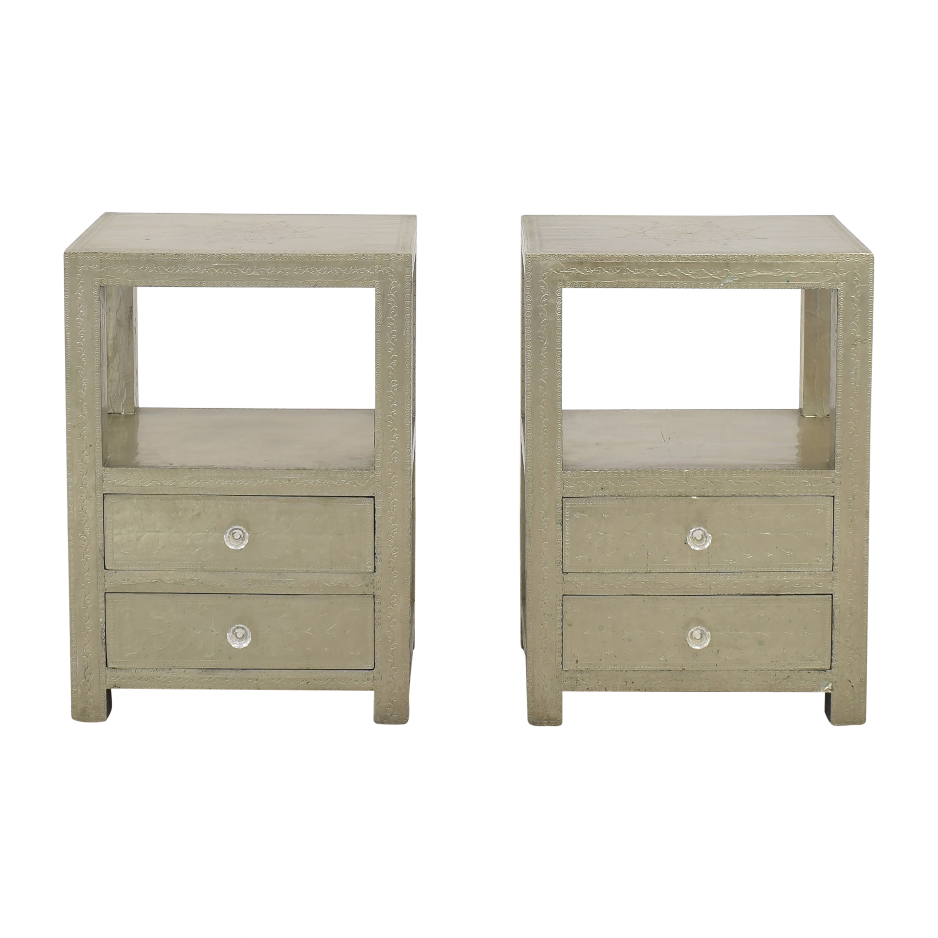 One Kings Lane Moroccan Style Nightstands sale