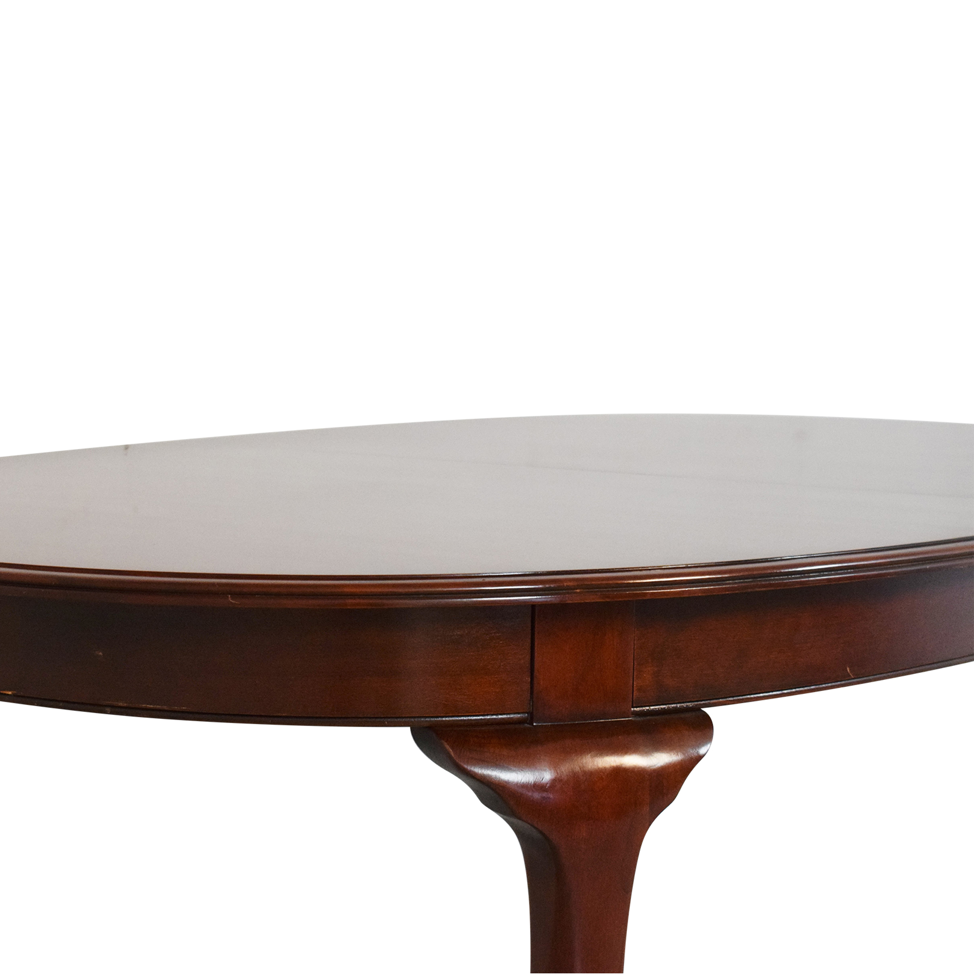 Knob Creek Knob Creek Queen Anne Expandable Dining Table dimensions