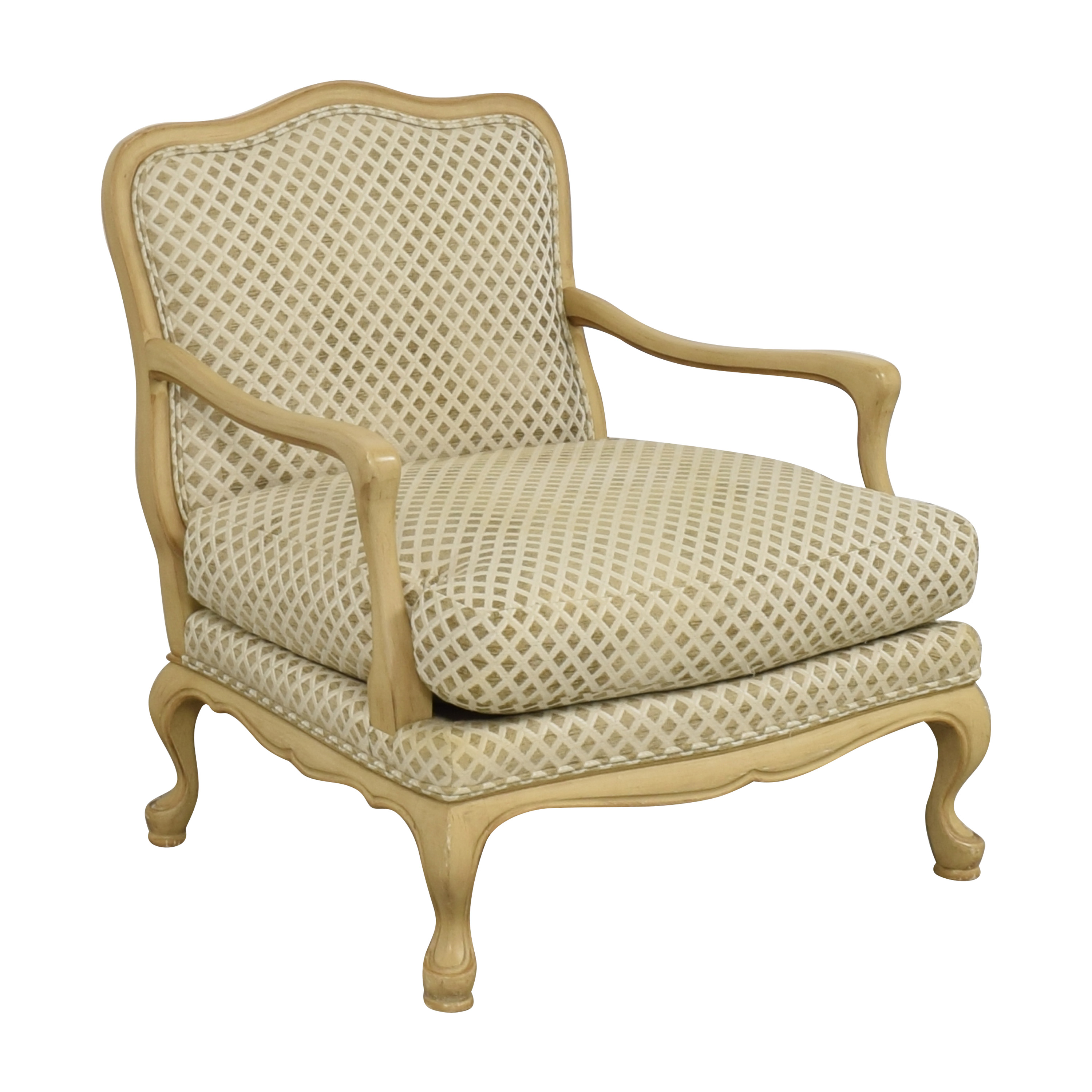 shop Century Furniture Bergere-Style Accent Chair Century Furniture