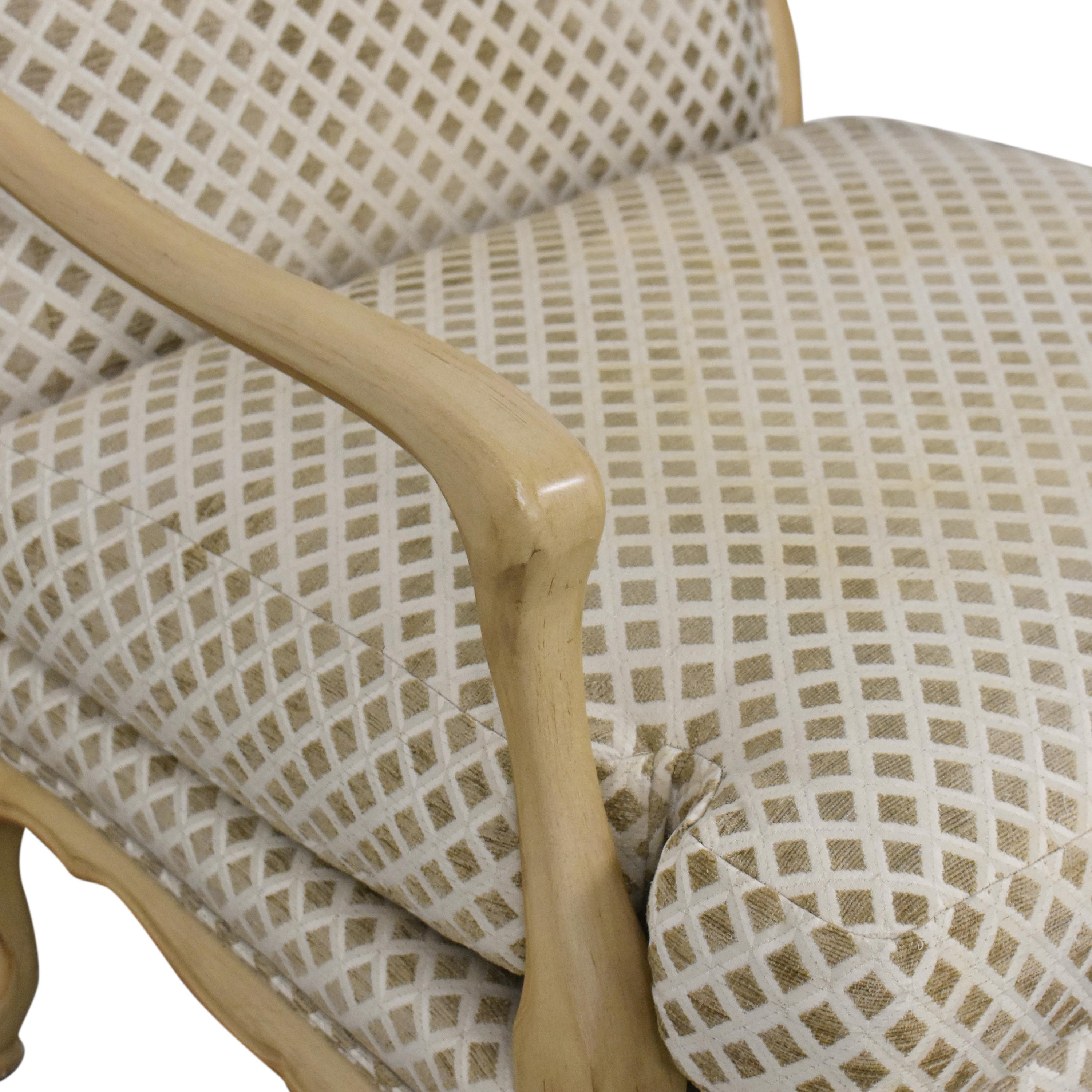 buy Century Furniture Bergere-Style Accent Chair Century Furniture Accent Chairs