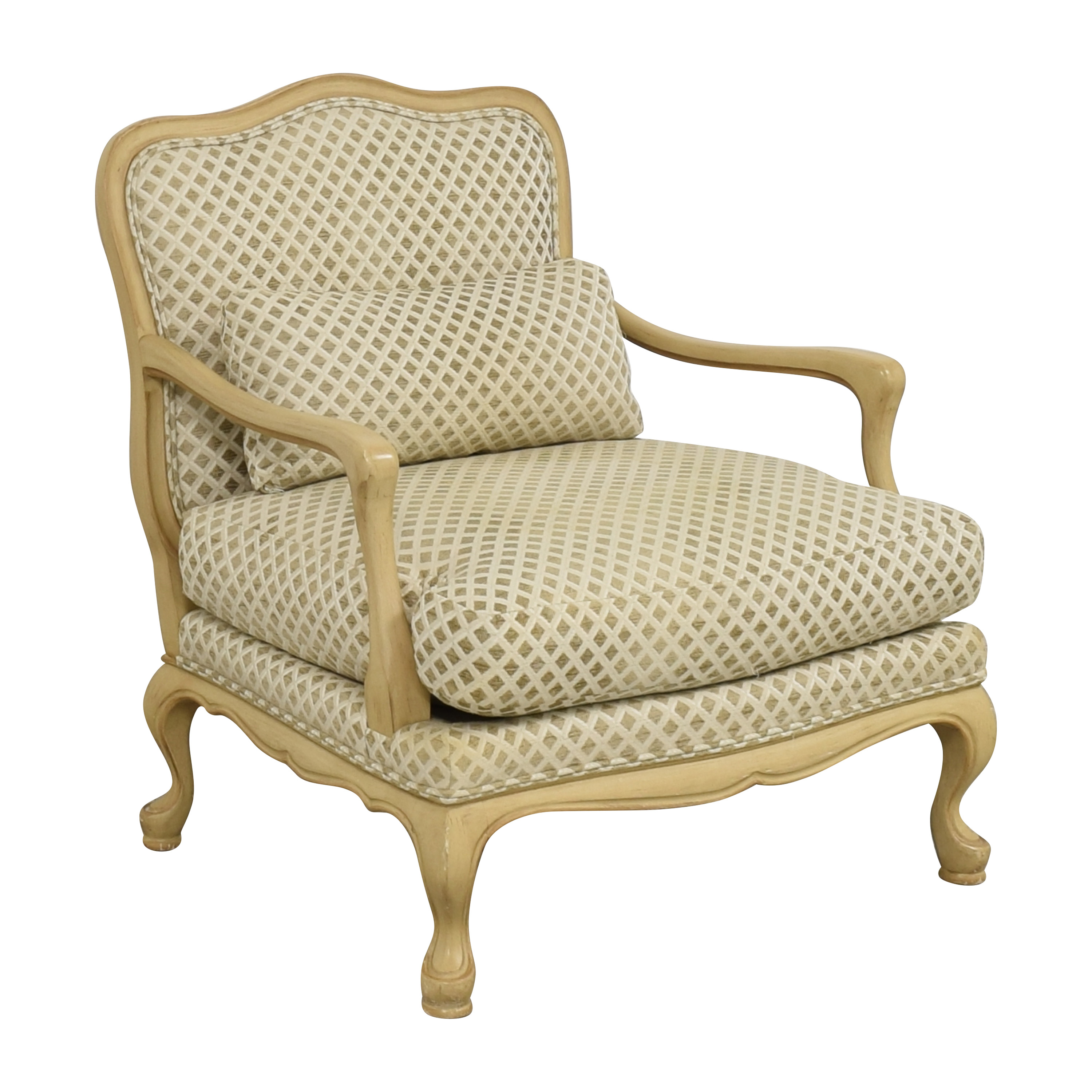 Century Furniture Bergere-Style Accent Chair / Accent Chairs