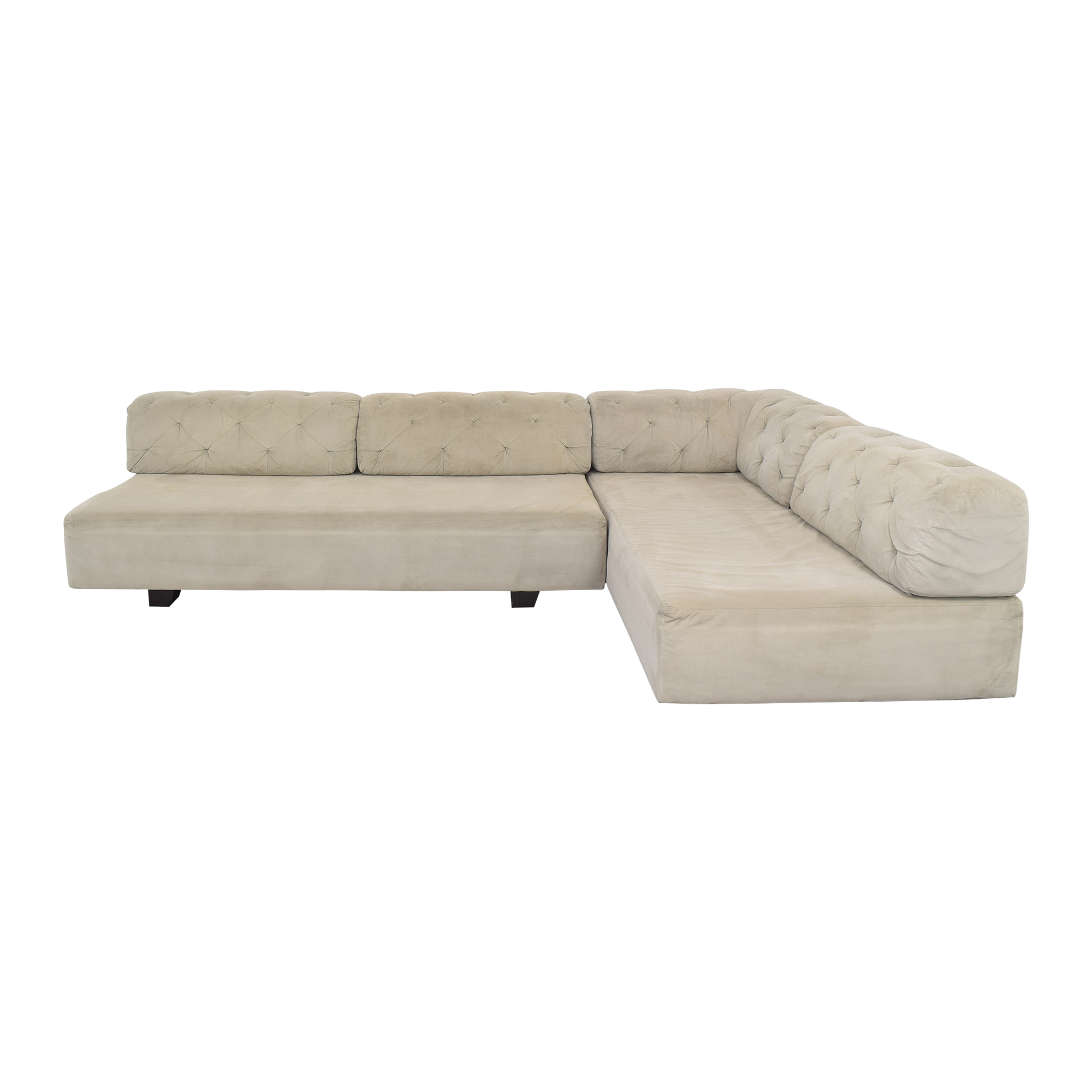 buy West Elm West Elm Tillary Tufted Sectional Sofa online