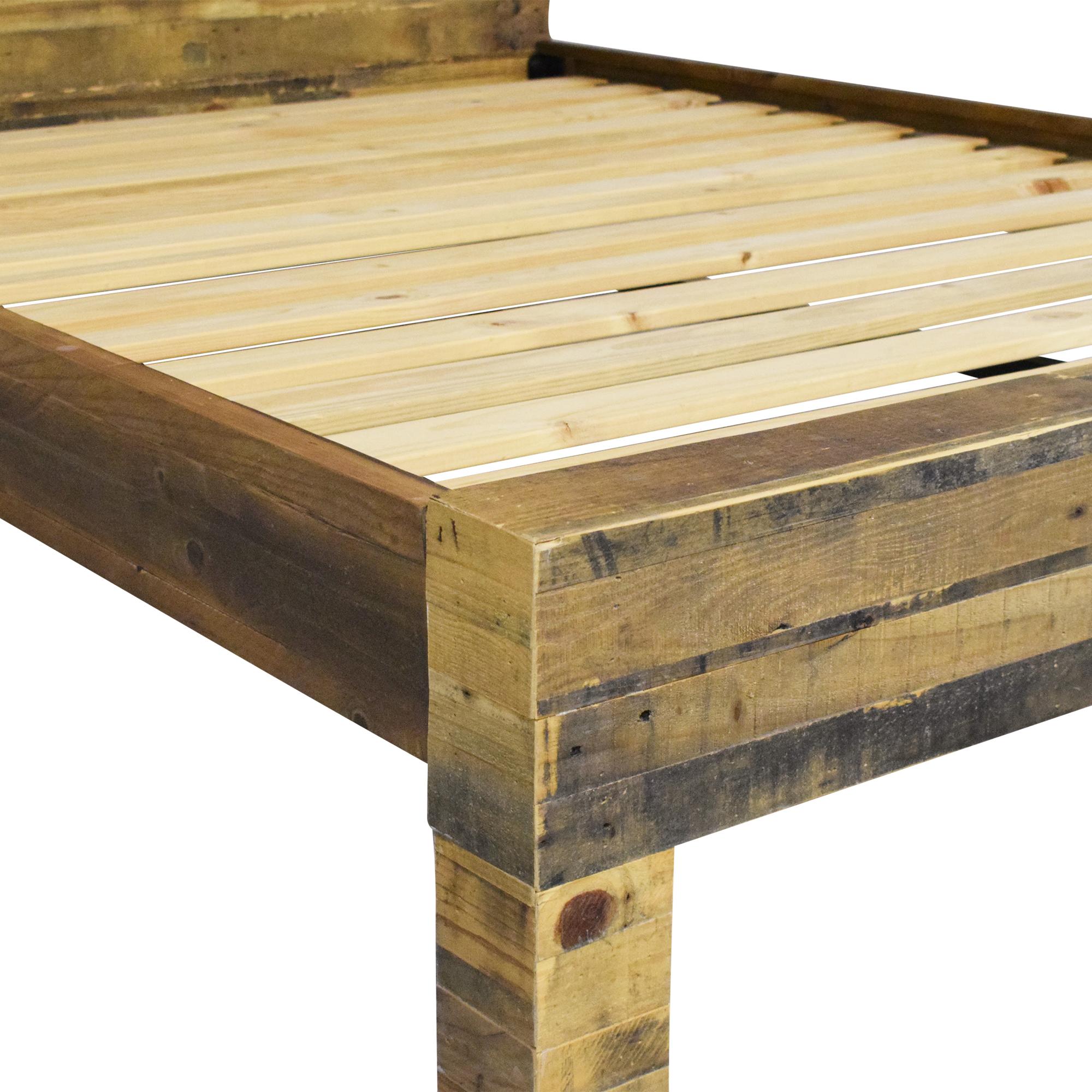 West Elm West Elm Emmerson Reclaimed Queen Bed Frame