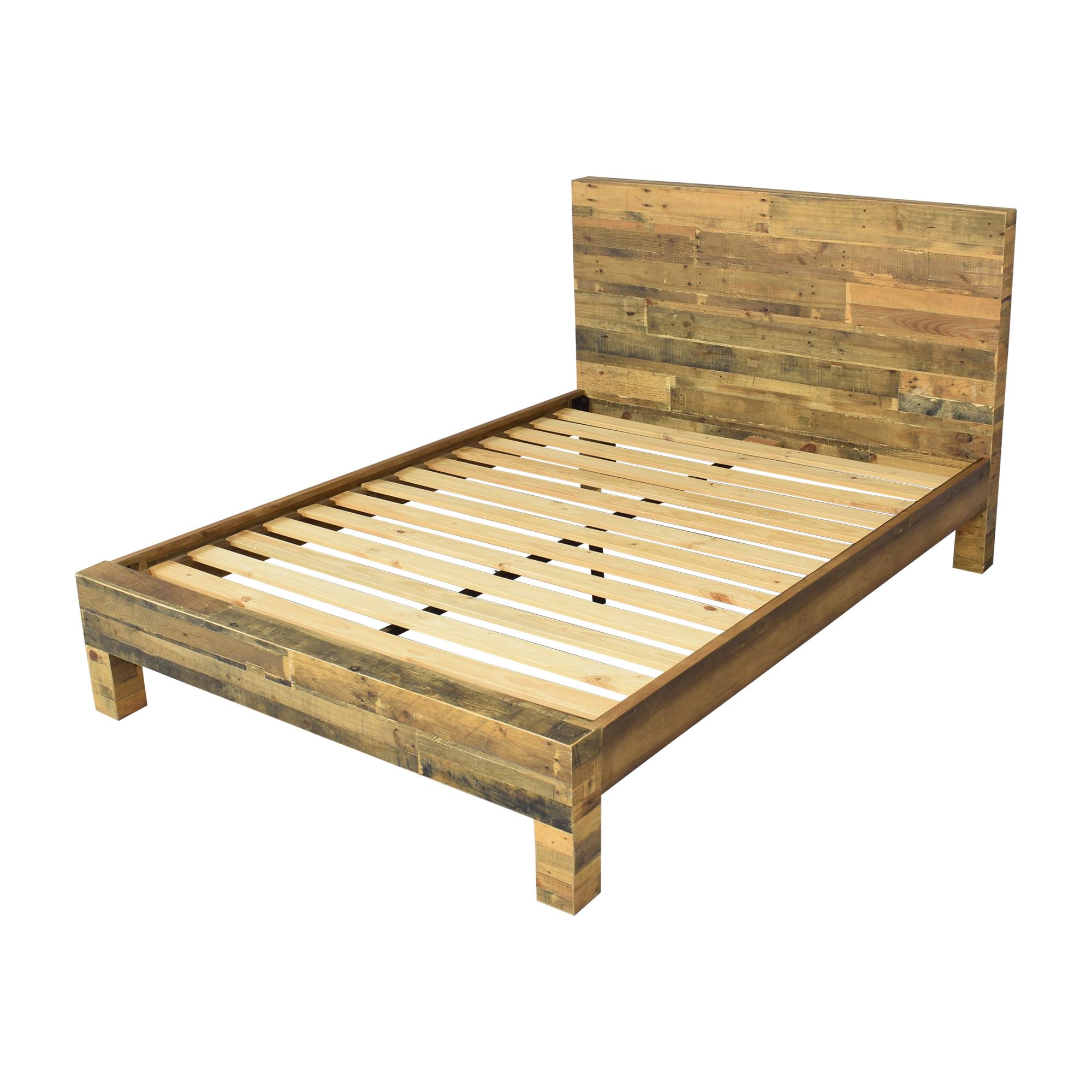 West Elm West Elm Emmerson Reclaimed Queen Bed Frame price