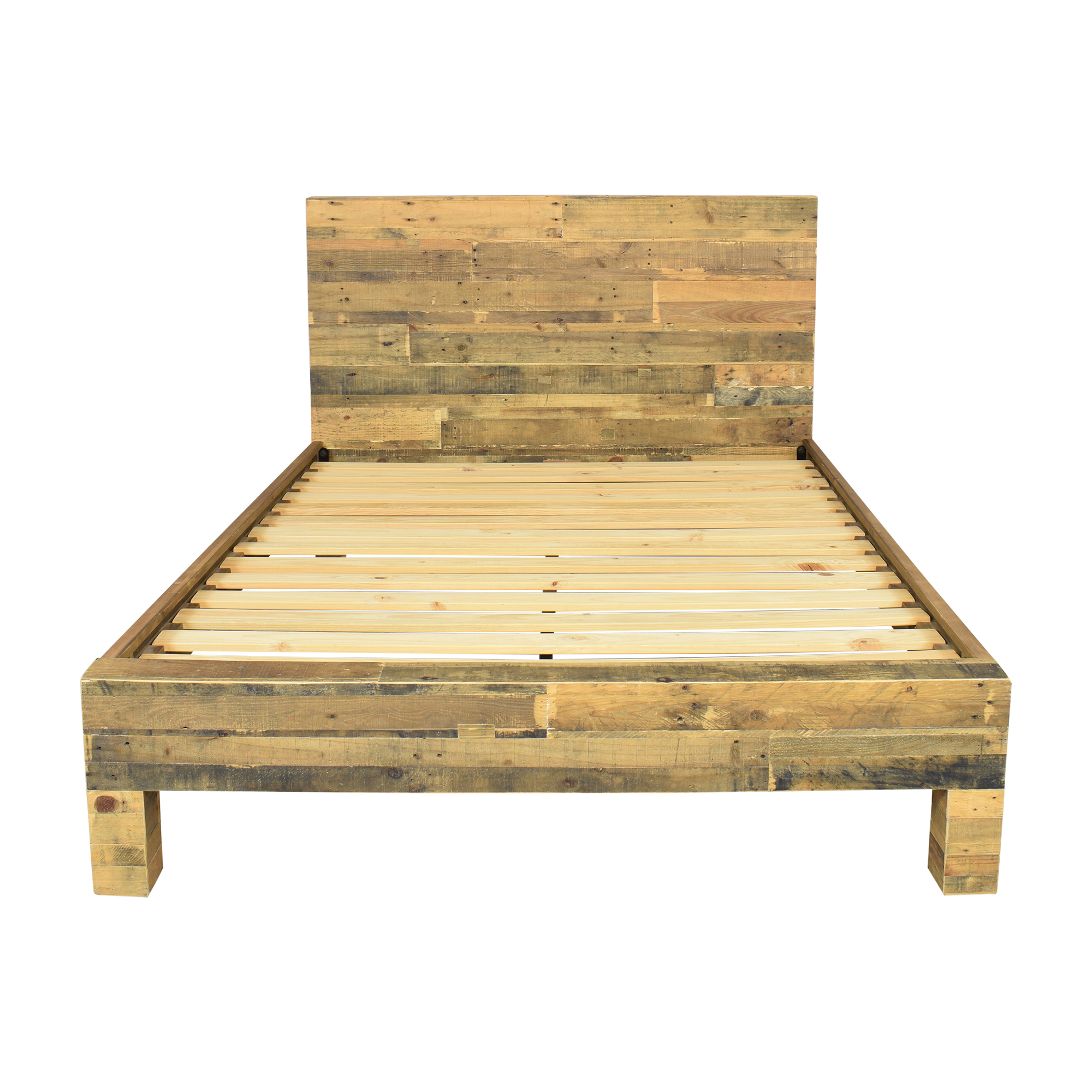 West Elm West Elm Emmerson Reclaimed Queen Bed Frame ma