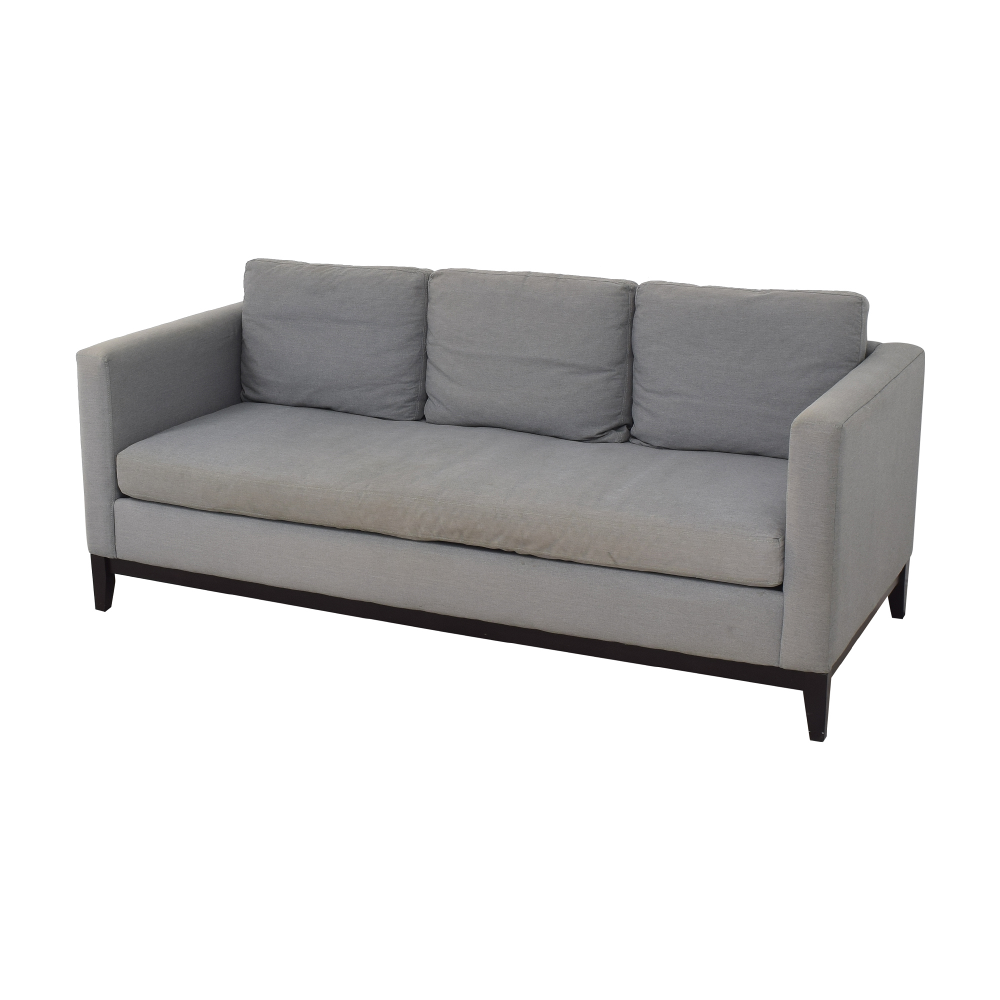 buy West Elm Blake Bench Cushion Sofa West Elm Sofas