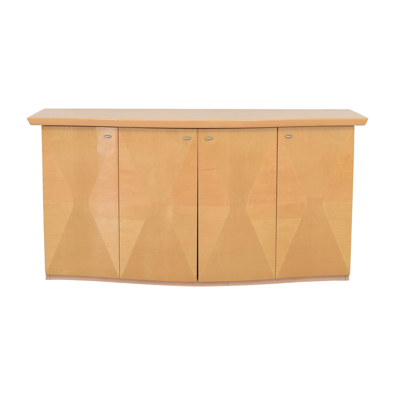Vintage Geometric Sideboard Cabinet nyc