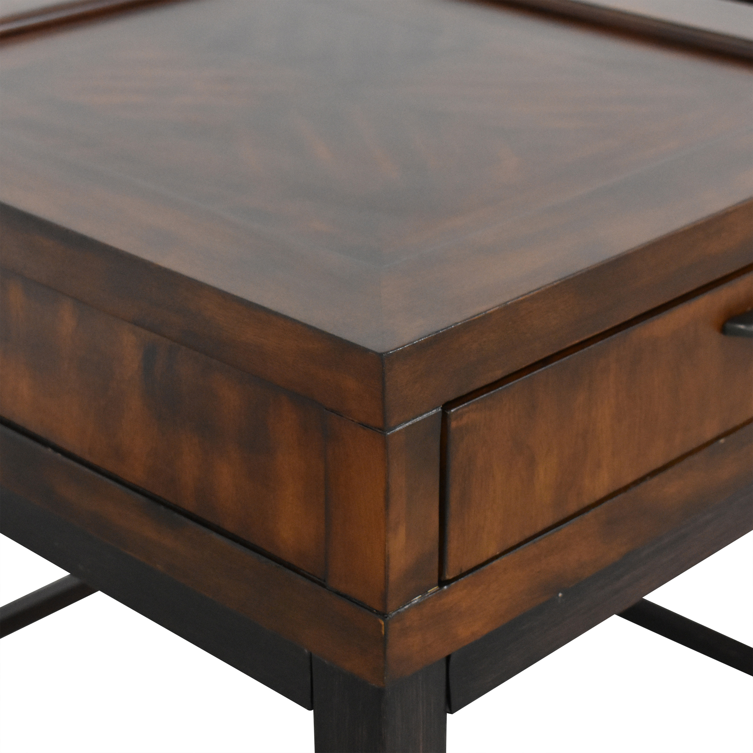 Raymour & Flanigan Raymour & Flanigan Single Drawer End Tables ct