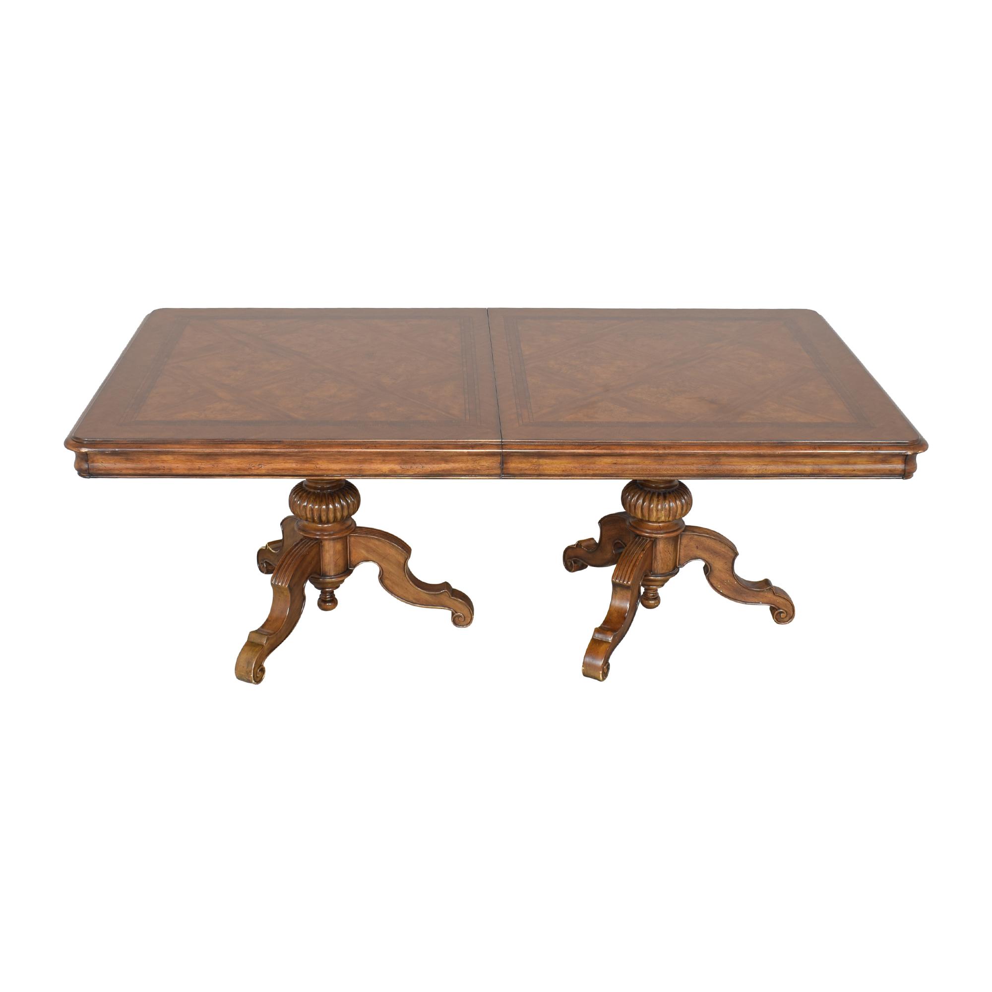 Thomasville Thomasville Ernest Hemingway Castillian Double Pedestal Dining Table nyc