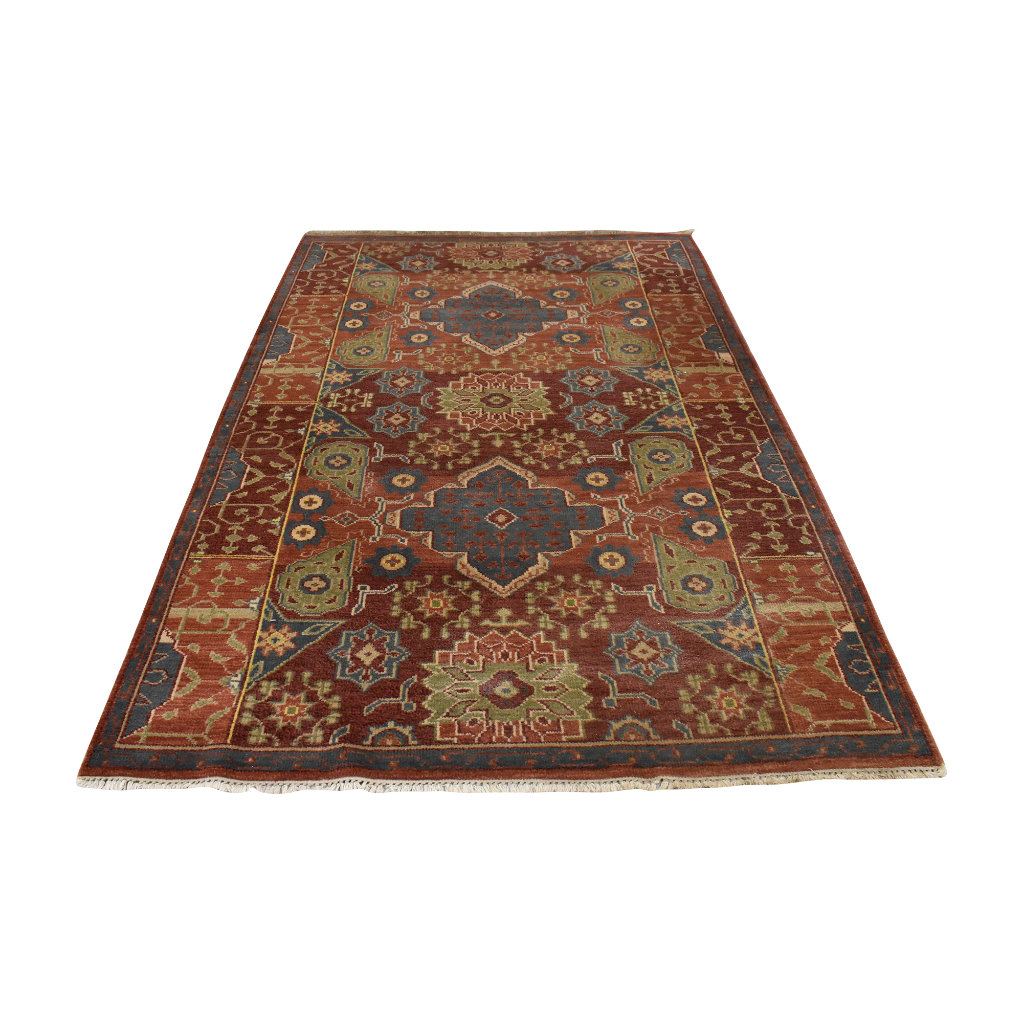 Room & Board Room & Board Patterned Area Rug second hand