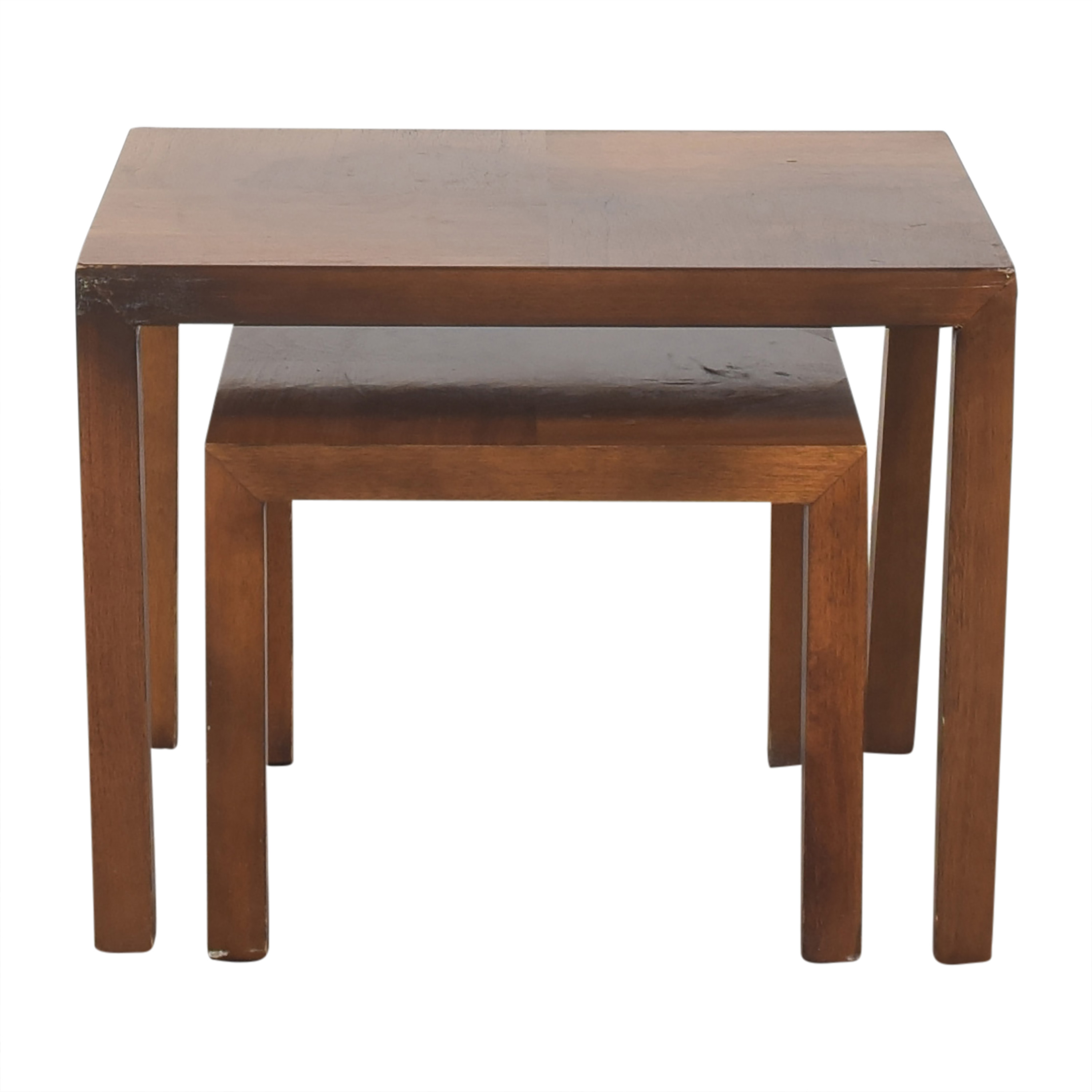 Lane Furniture Lane Furniture Vintage Nesting End Tables pa