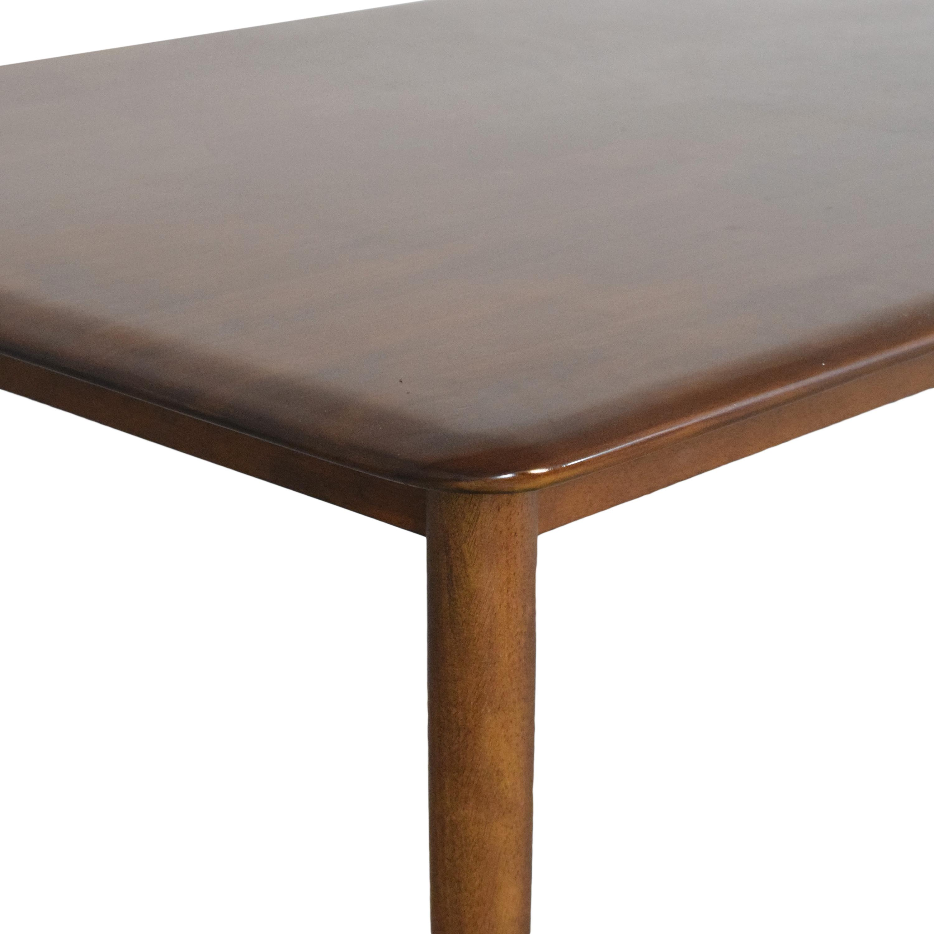 West Elm West Elm Lena Mid Century Dining Table nyc