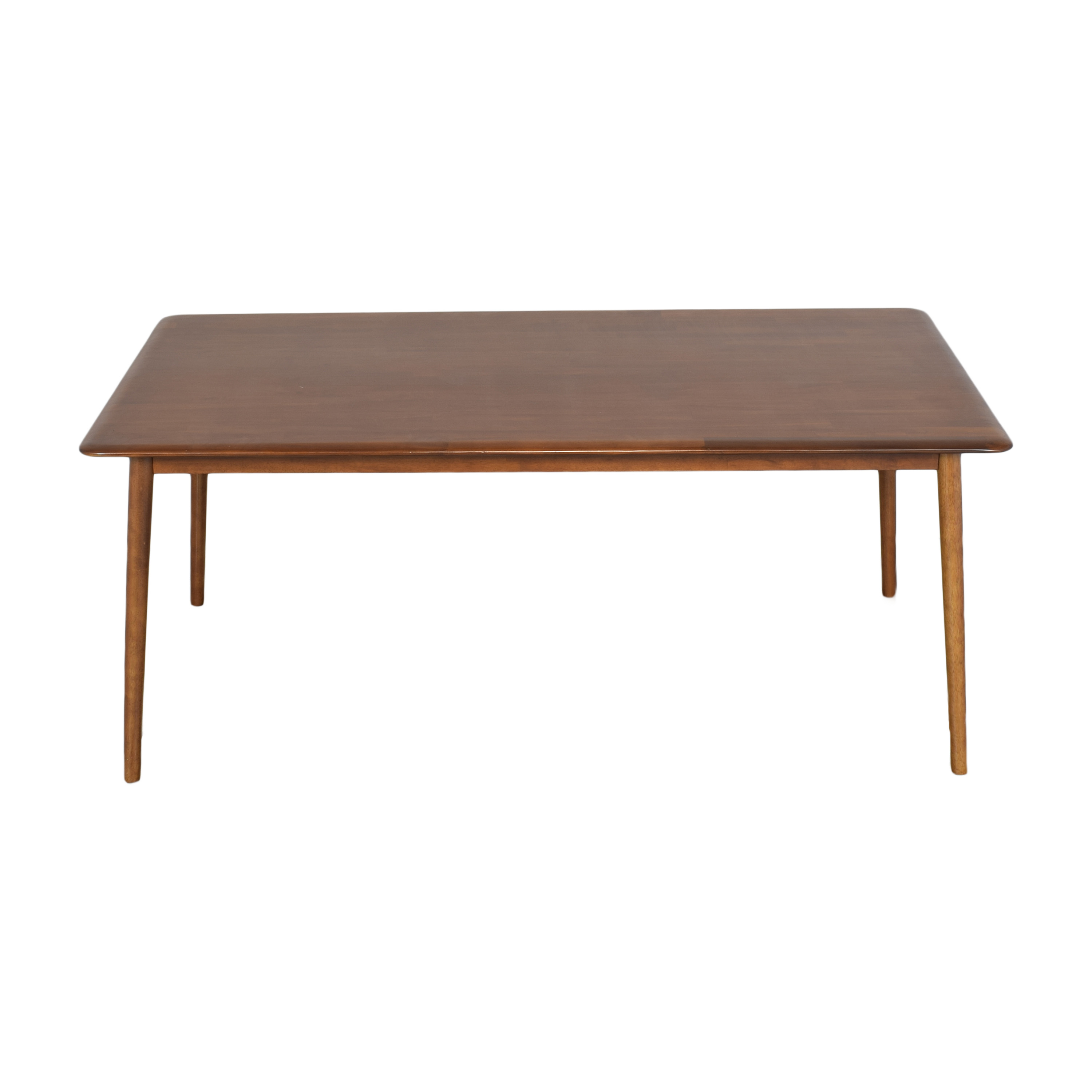 West Elm West Elm Lena Mid Century Dining Table dimensions
