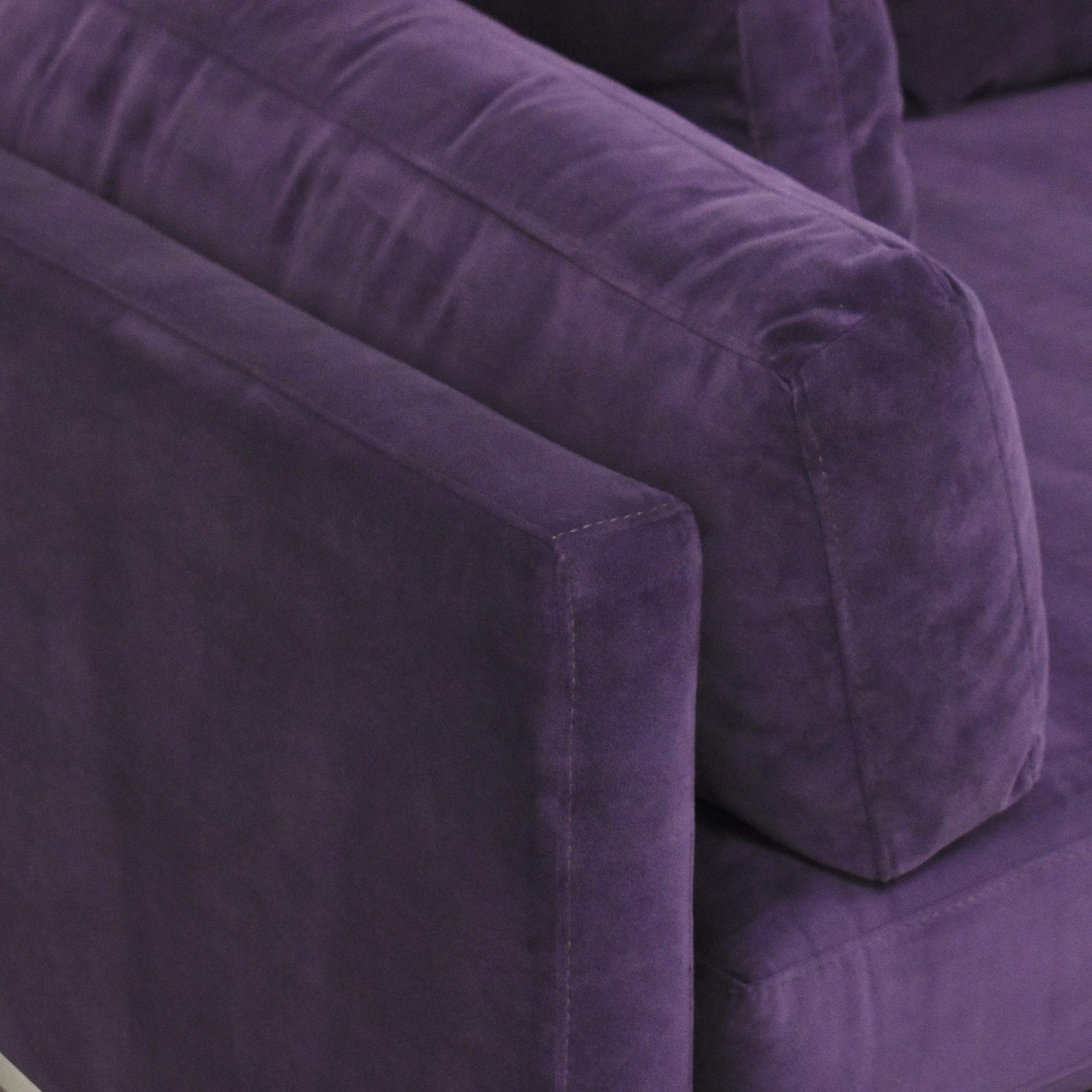 Z Gallerie Z Gallerie Ventura Extra Deep Sectional Sofa on sale