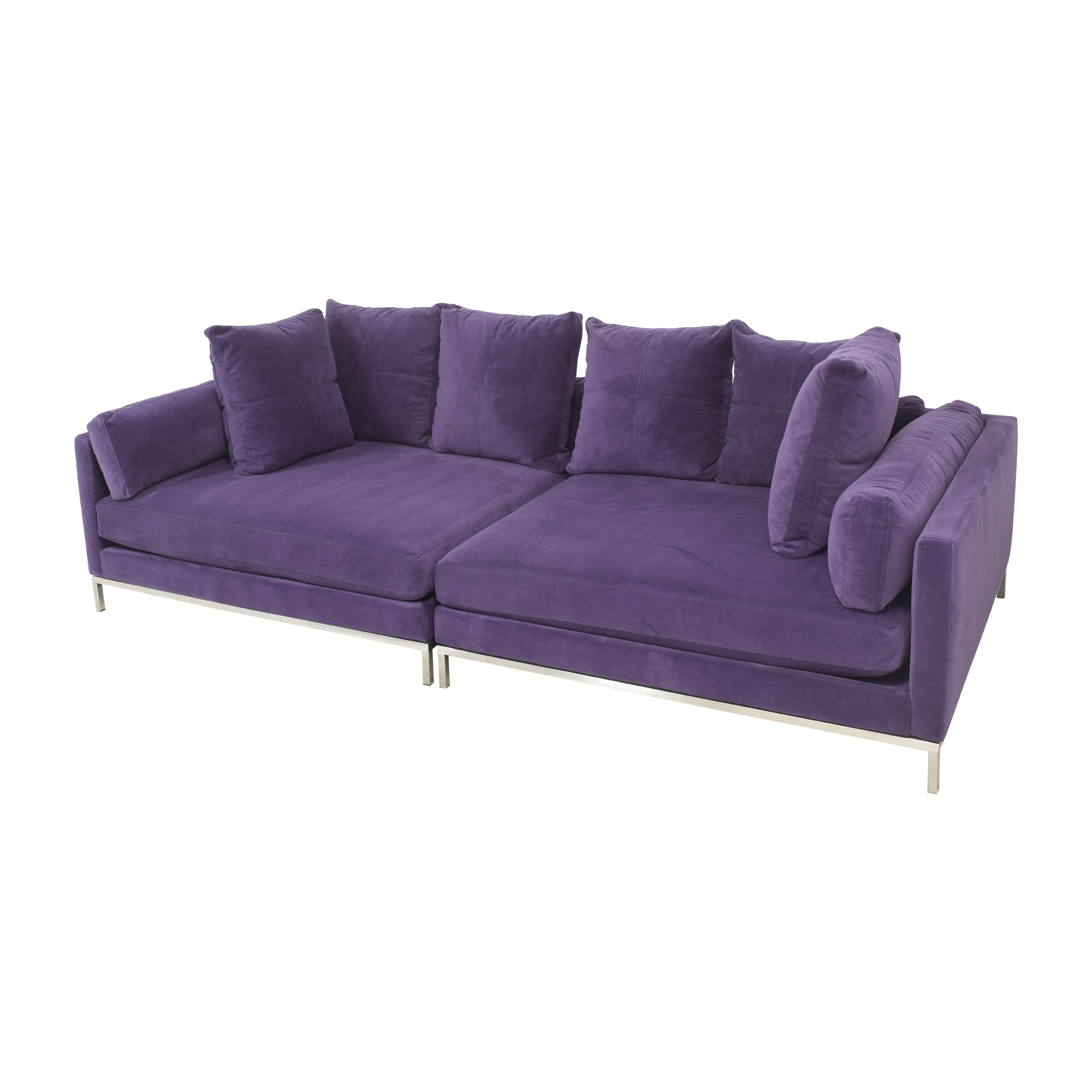 Z Gallerie Ventura Extra Deep Sectional Sofa / Sectionals