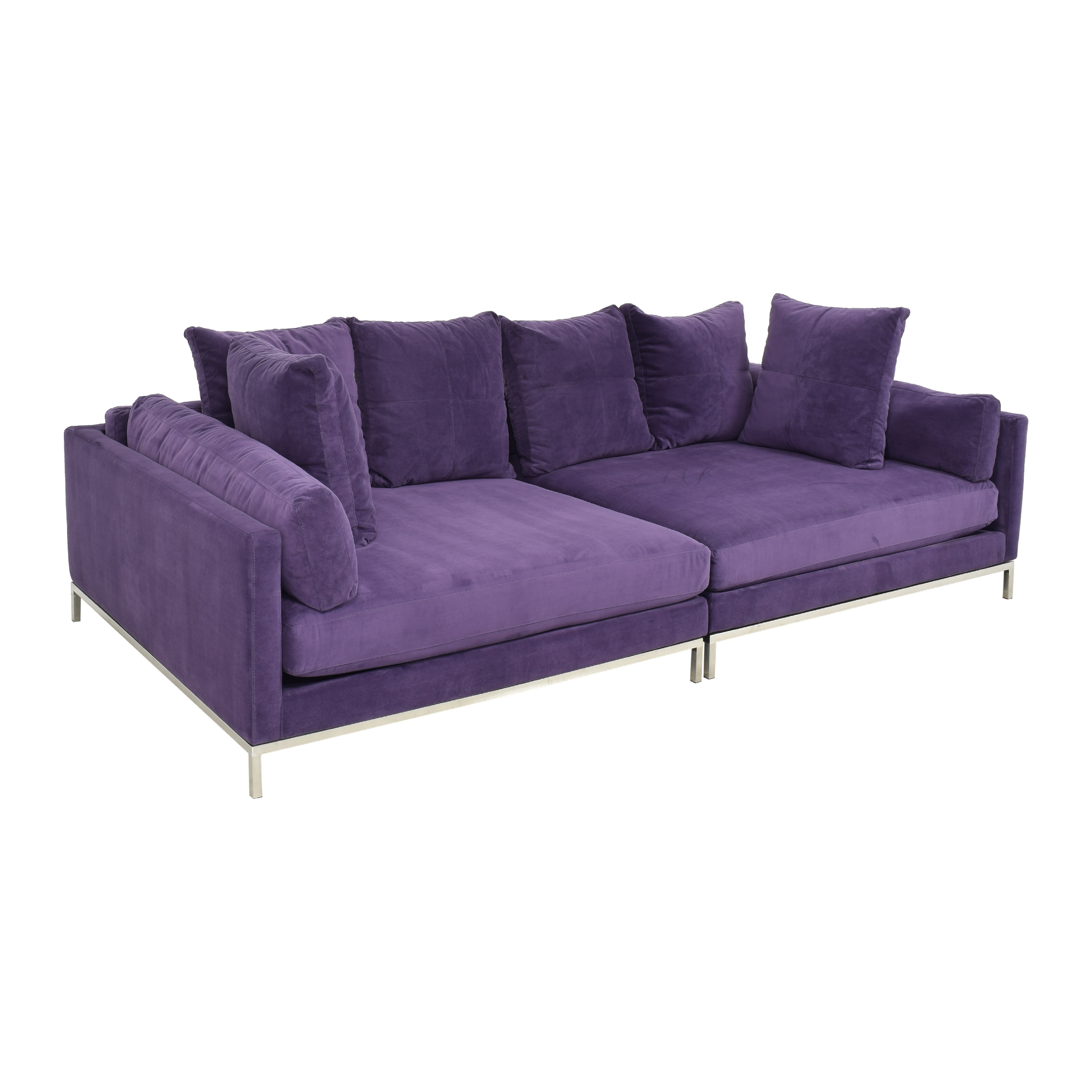 31 Off Z Gallerie Z Gallerie Ventura Extra Deep Sectional Sofa Sofas