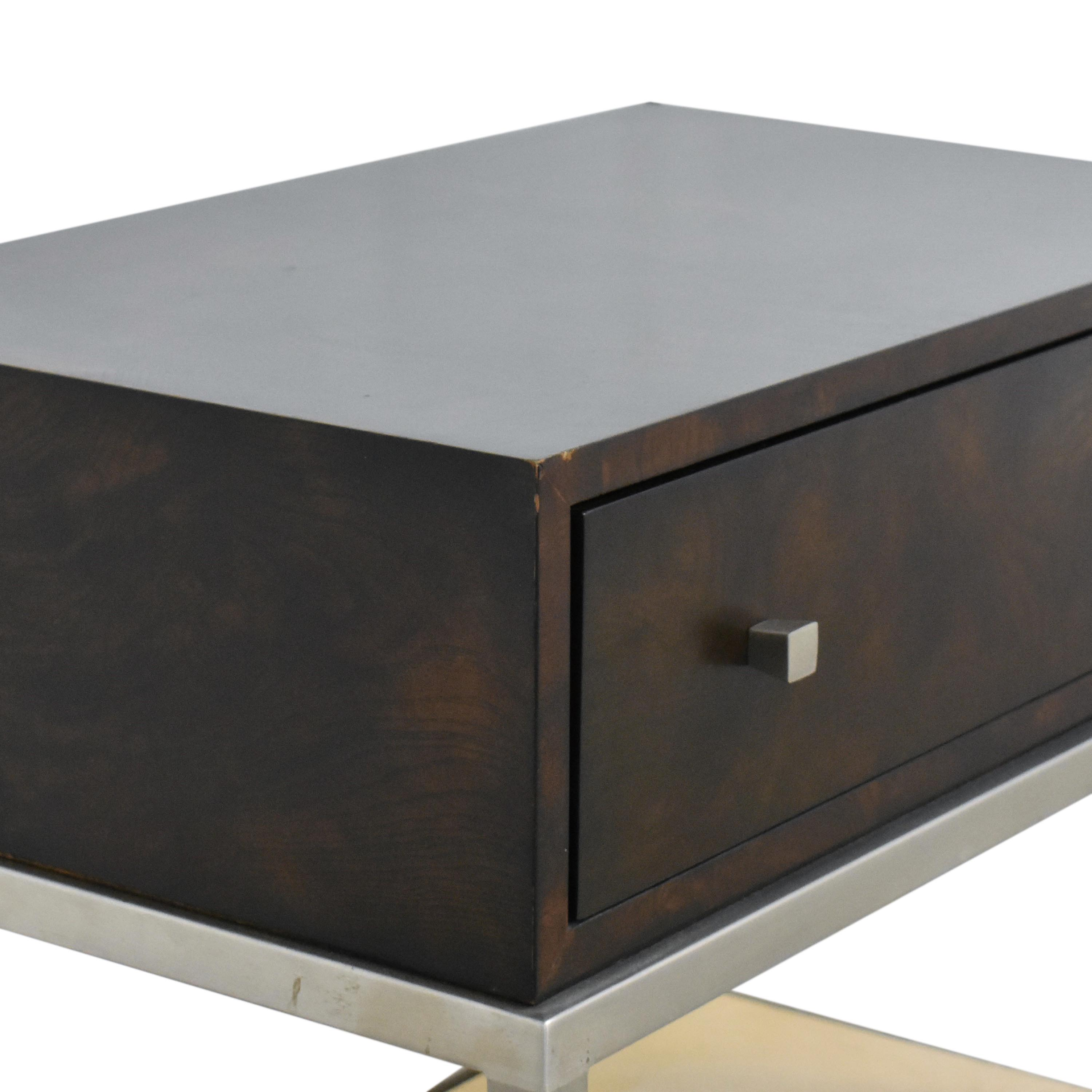 Ethan Allen Ethan Allen Side Table with Drawer on sale