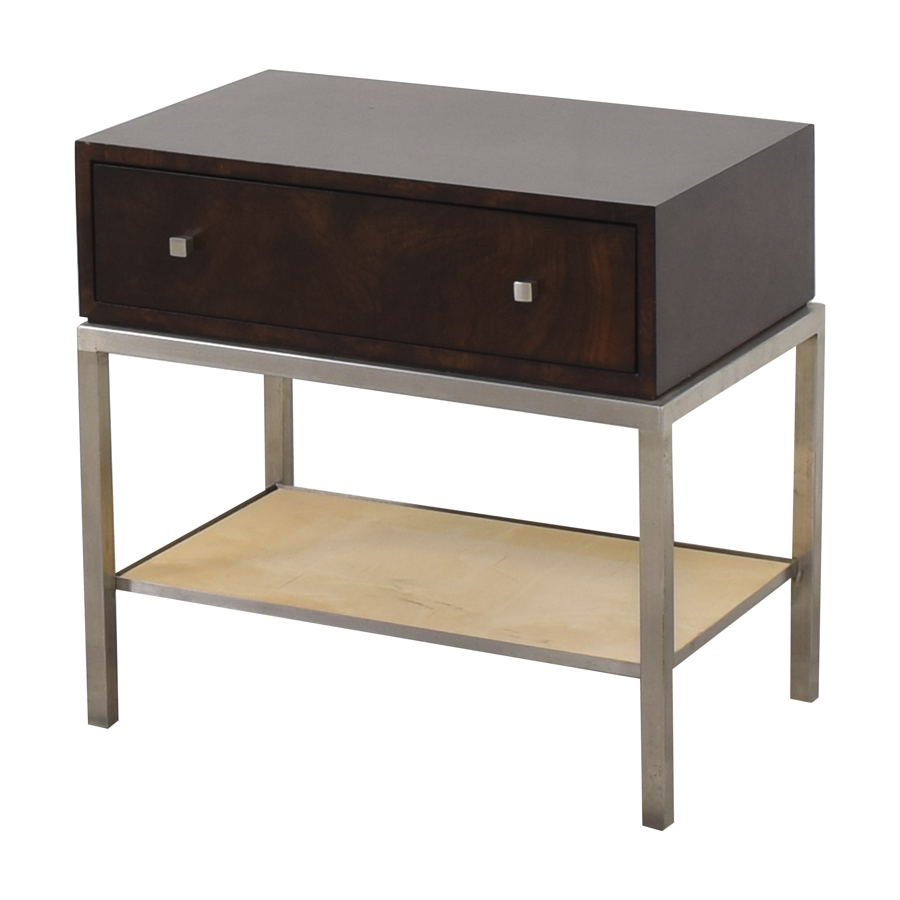 Ethan Allen Side Table with Drawer / Tables