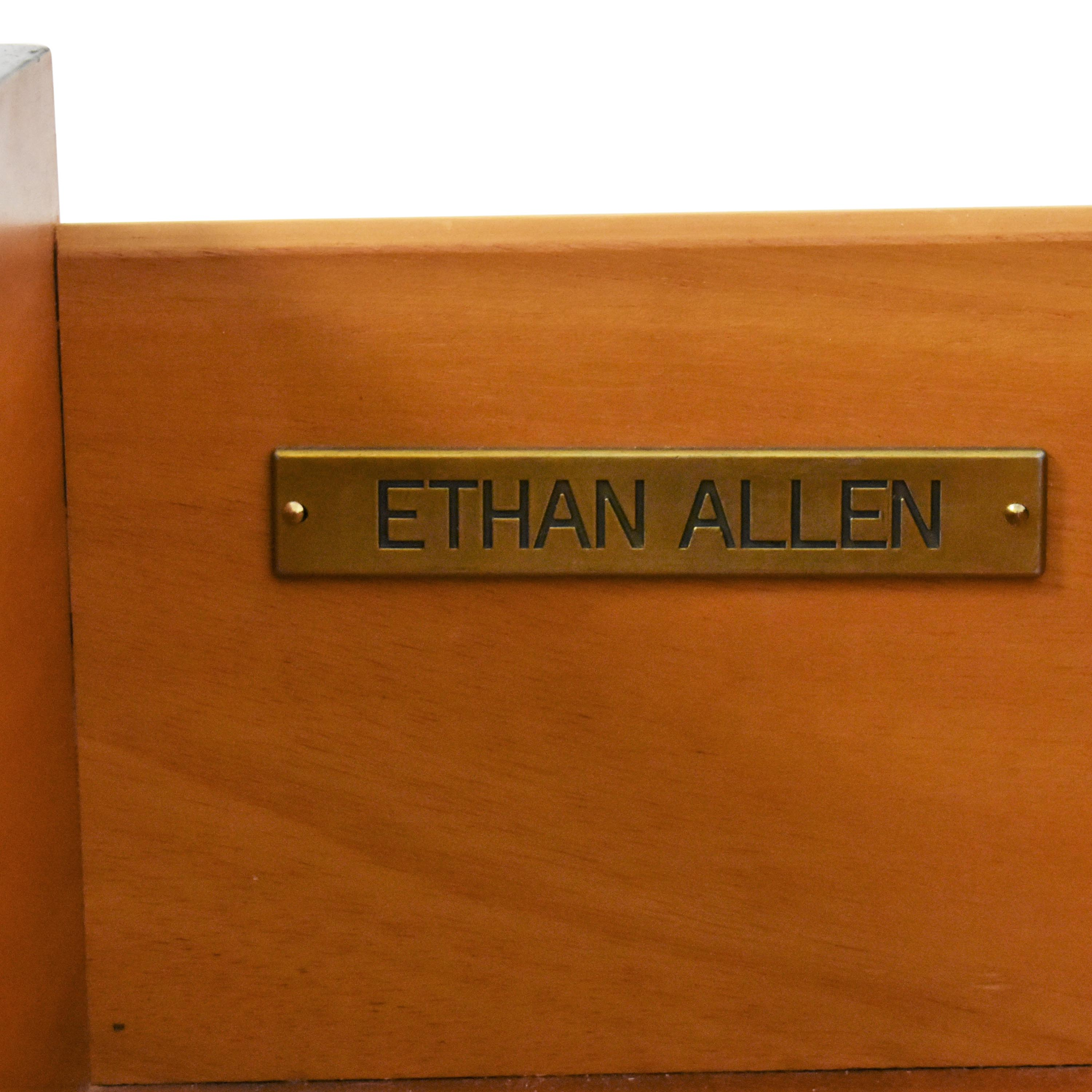 Ethan Allen Ethan Allen Side Table with Drawer dimensions