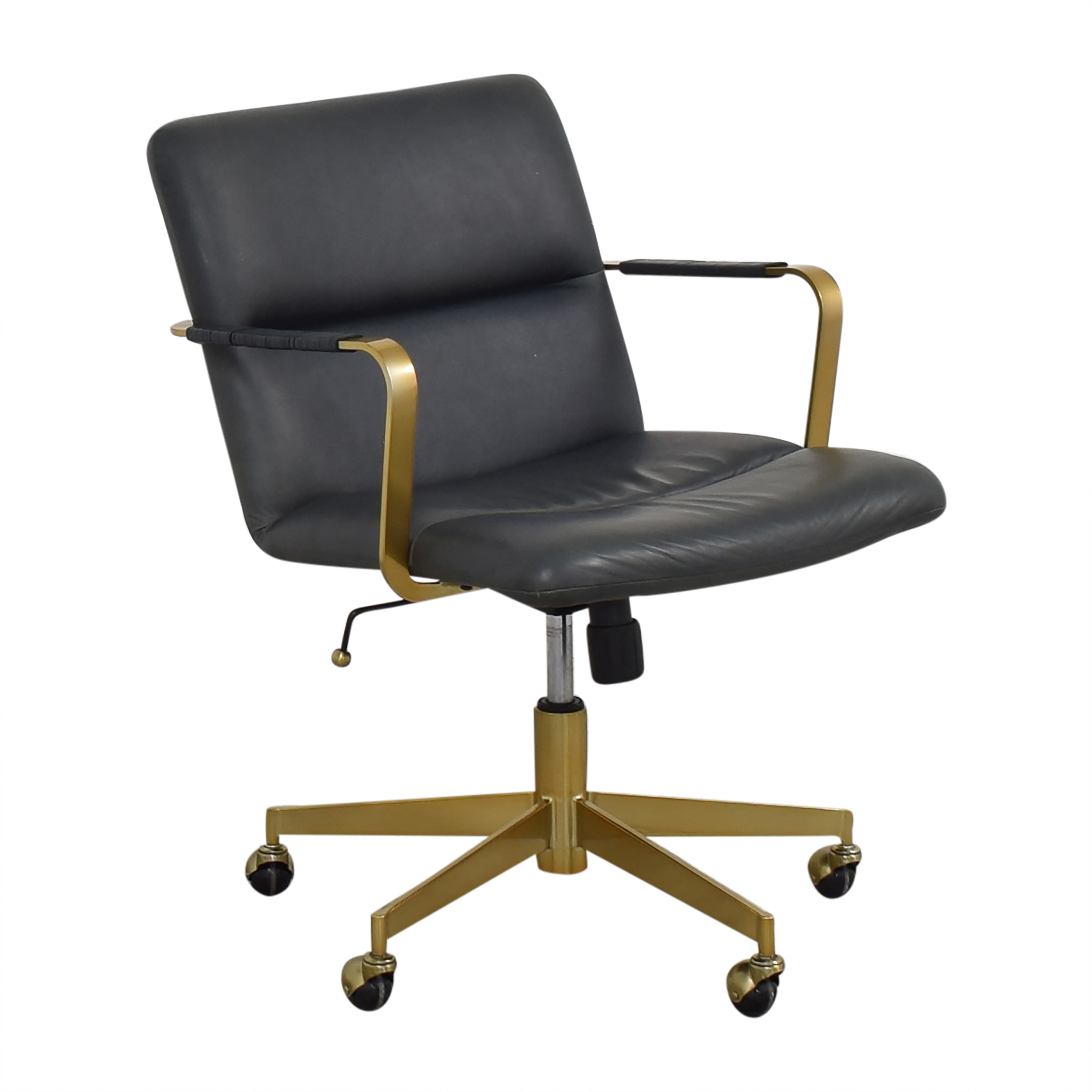 buy West Elm Cooper Mid-Century Office Chair West Elm Home Office Chairs