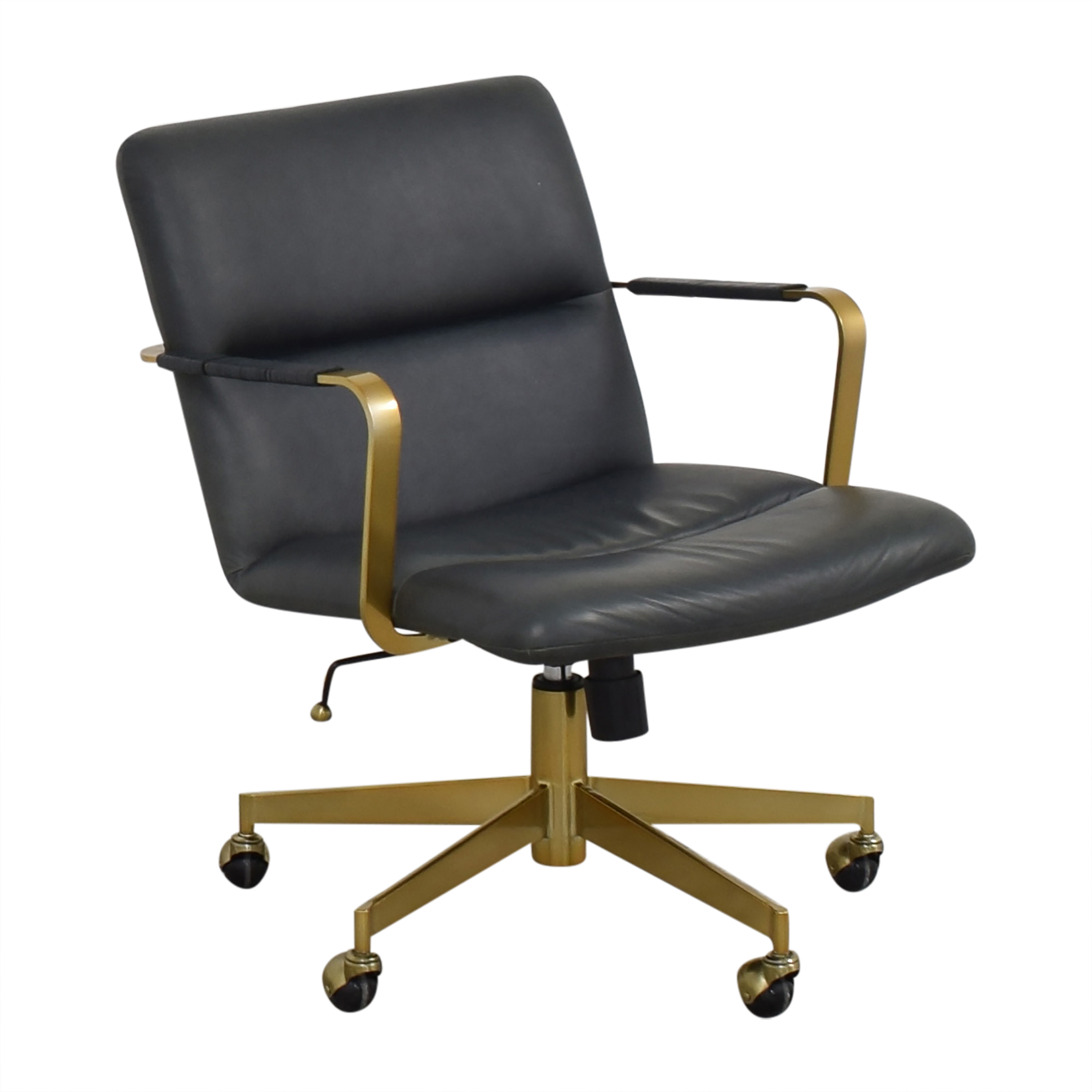 shop West Elm Cooper Mid-Century Office Chair West Elm Home Office Chairs