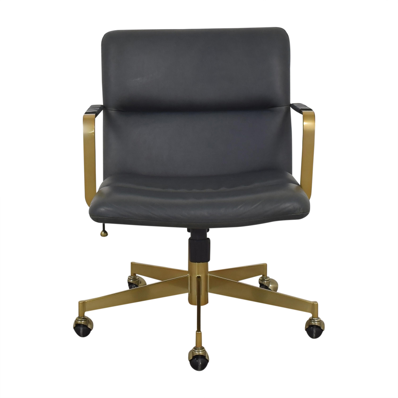 shop West Elm Cooper Mid-Century Office Chair West Elm Chairs