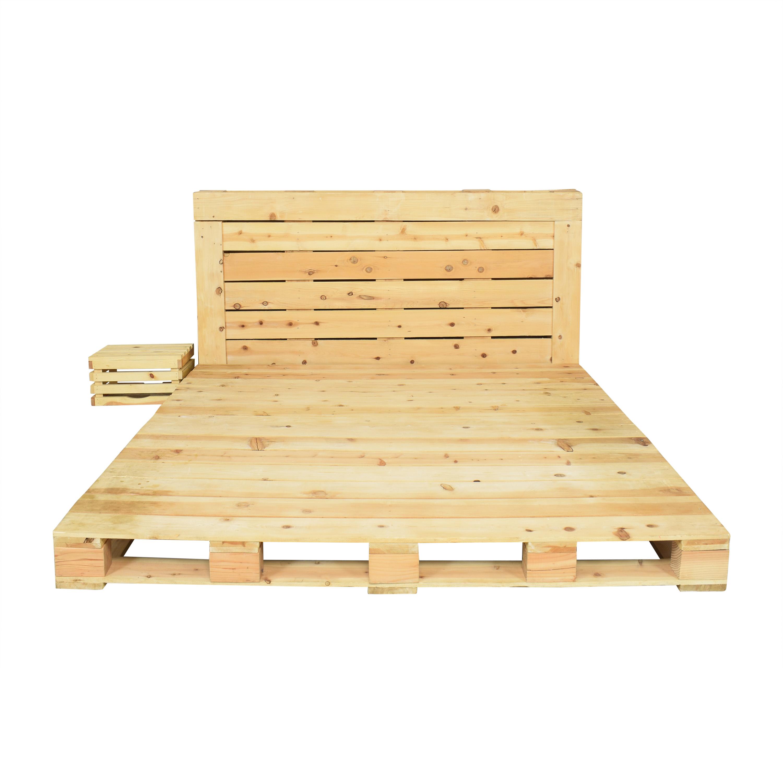shop Pallet Beds King Bed Pallet Beds