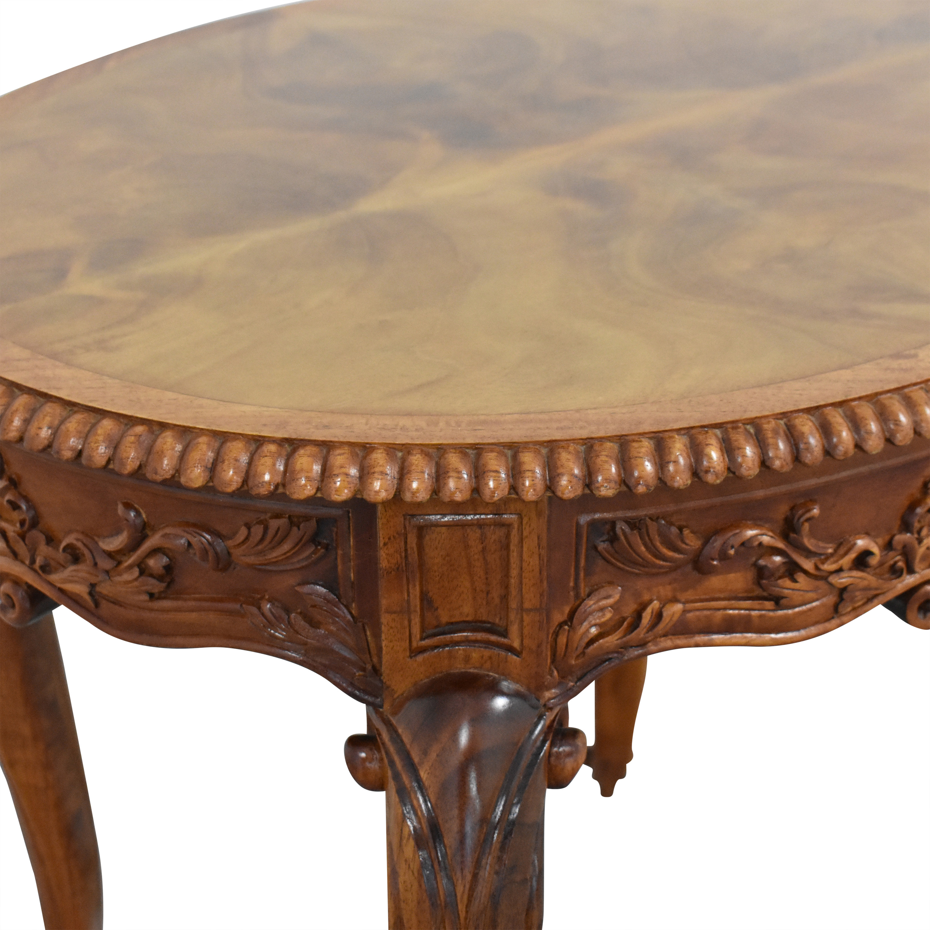 buy Carved End Table