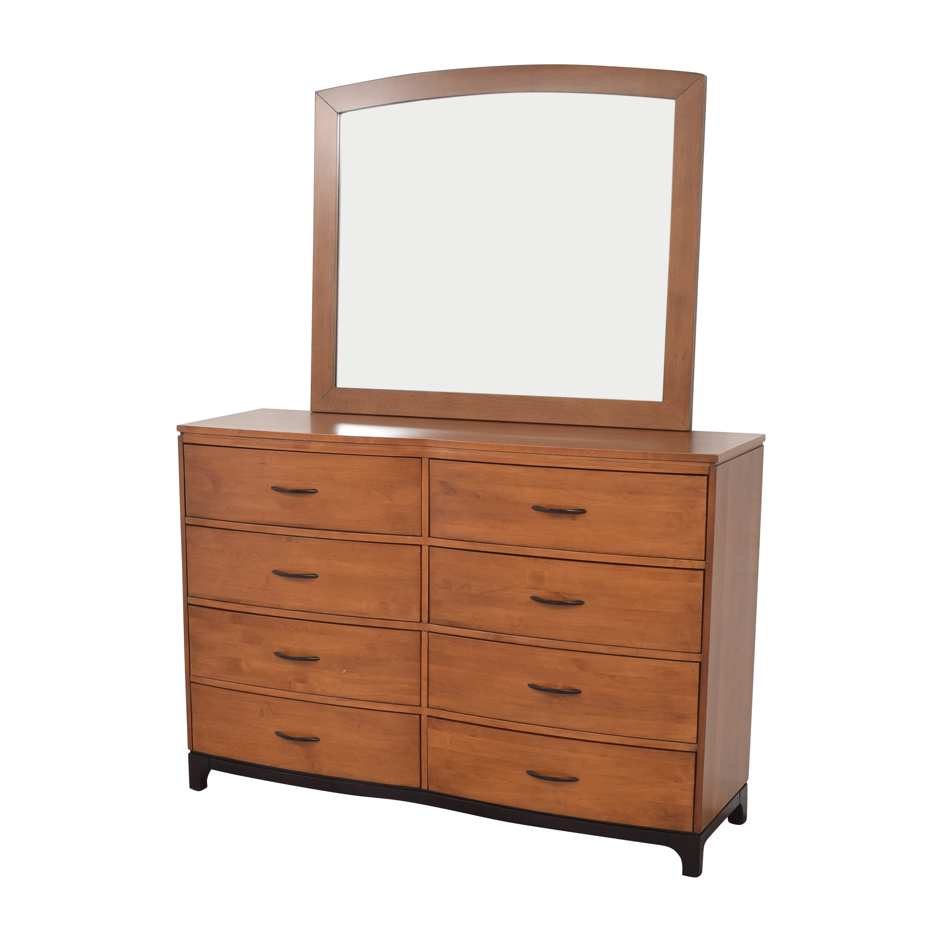 Pottery Barn Pottery Barn Eight Drawer Dresser with Mirror for sale